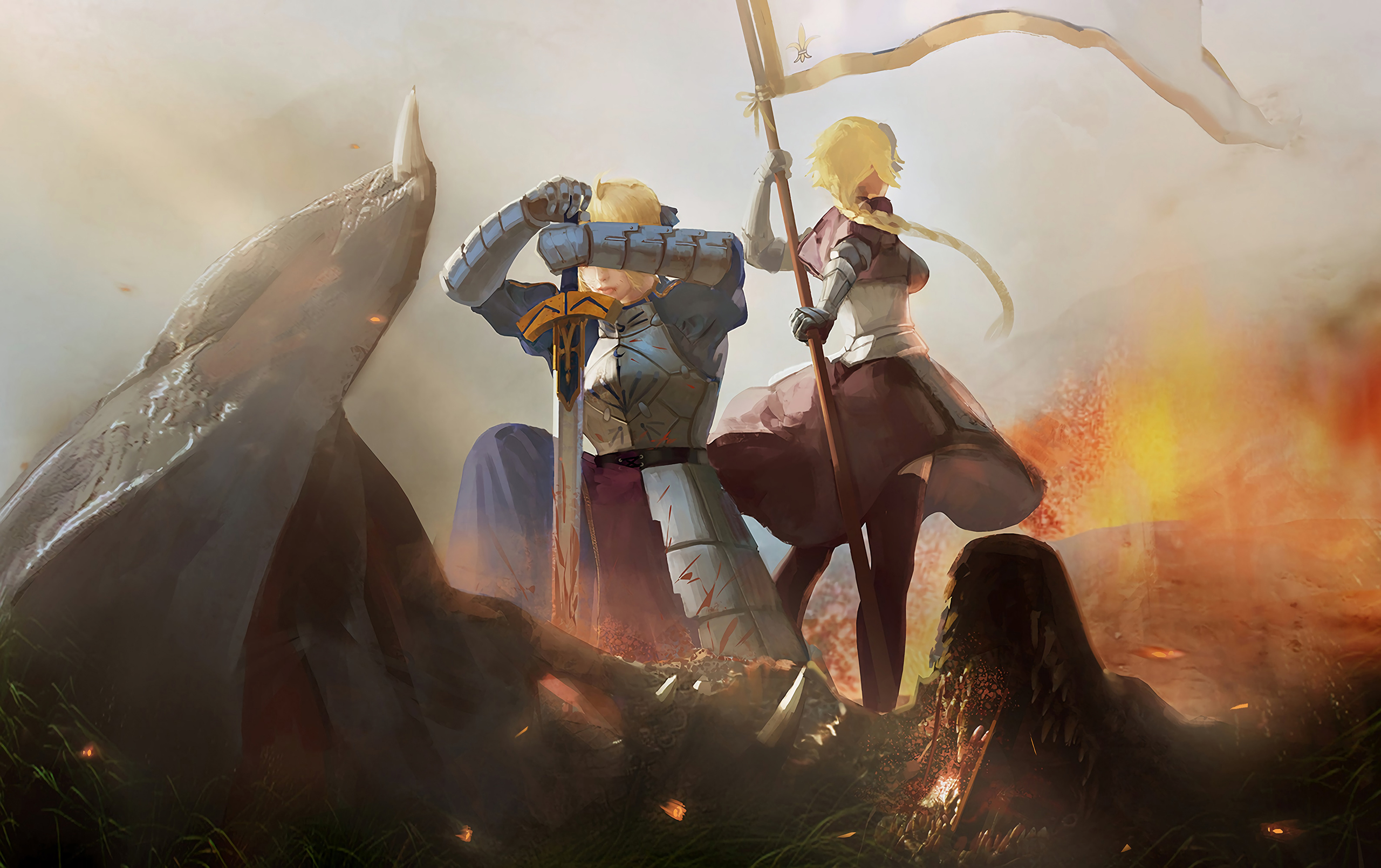 Fondos de pantalla Anime Personajes de Fate Grand order