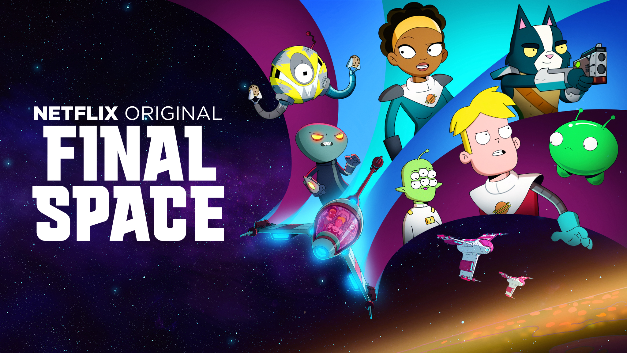Wallpaper Characters from Final Space