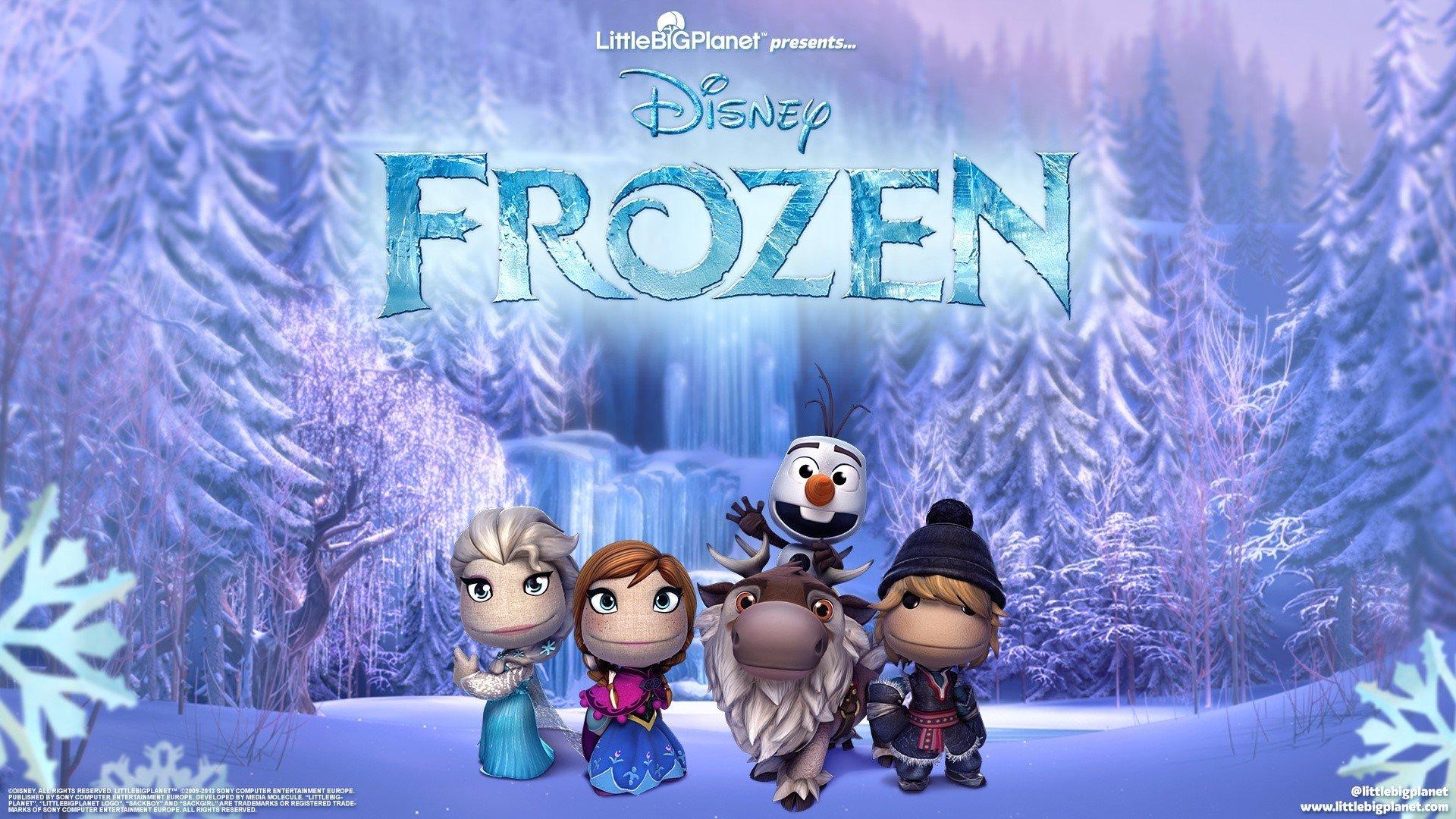 Fondo de pantalla de Personajes de Frozen en Littlebigplanet Imágenes