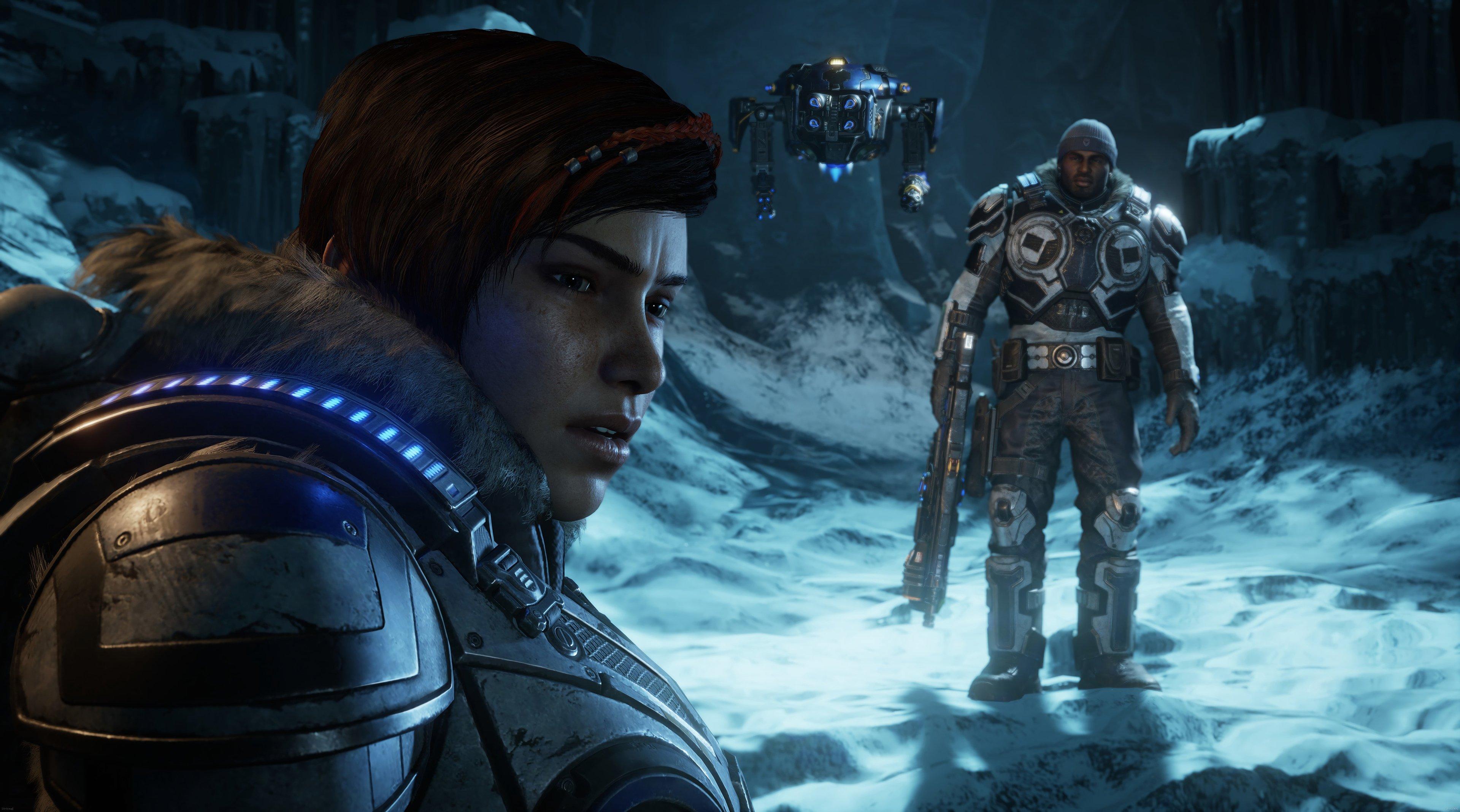 Fondos de pantalla Personajes de Gears of War 5