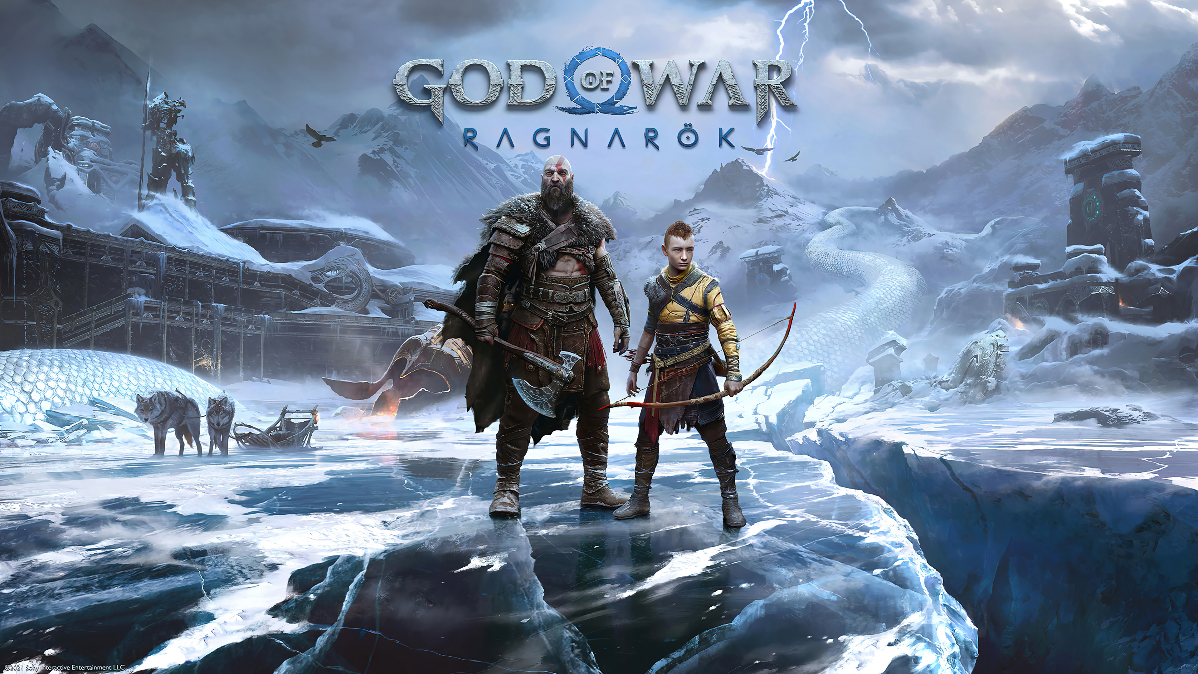 Fondos de pantalla Personajes de God of War Ragnrok