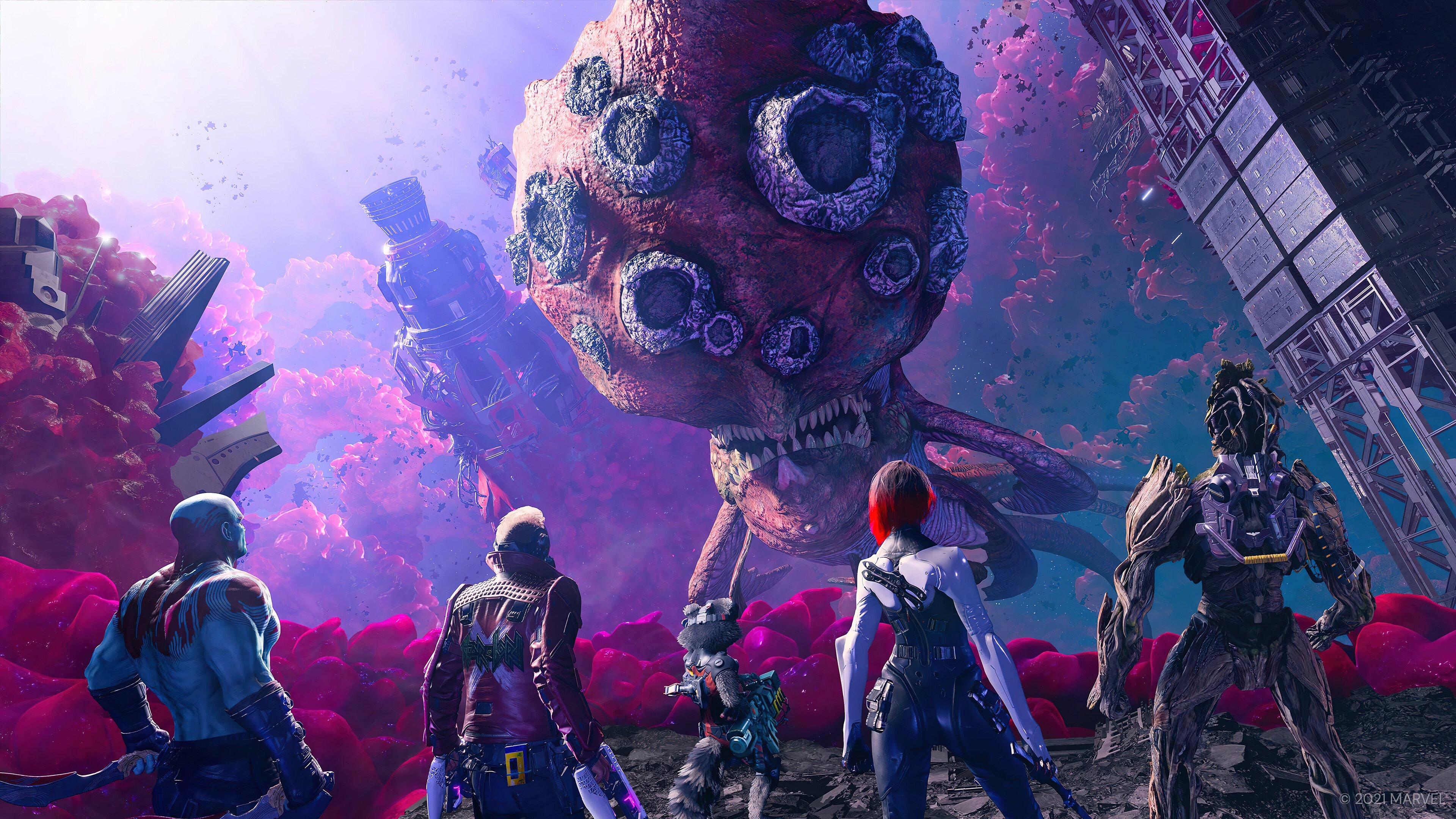 Fondos de pantalla Personajes de Guardianes de la galaxia juego