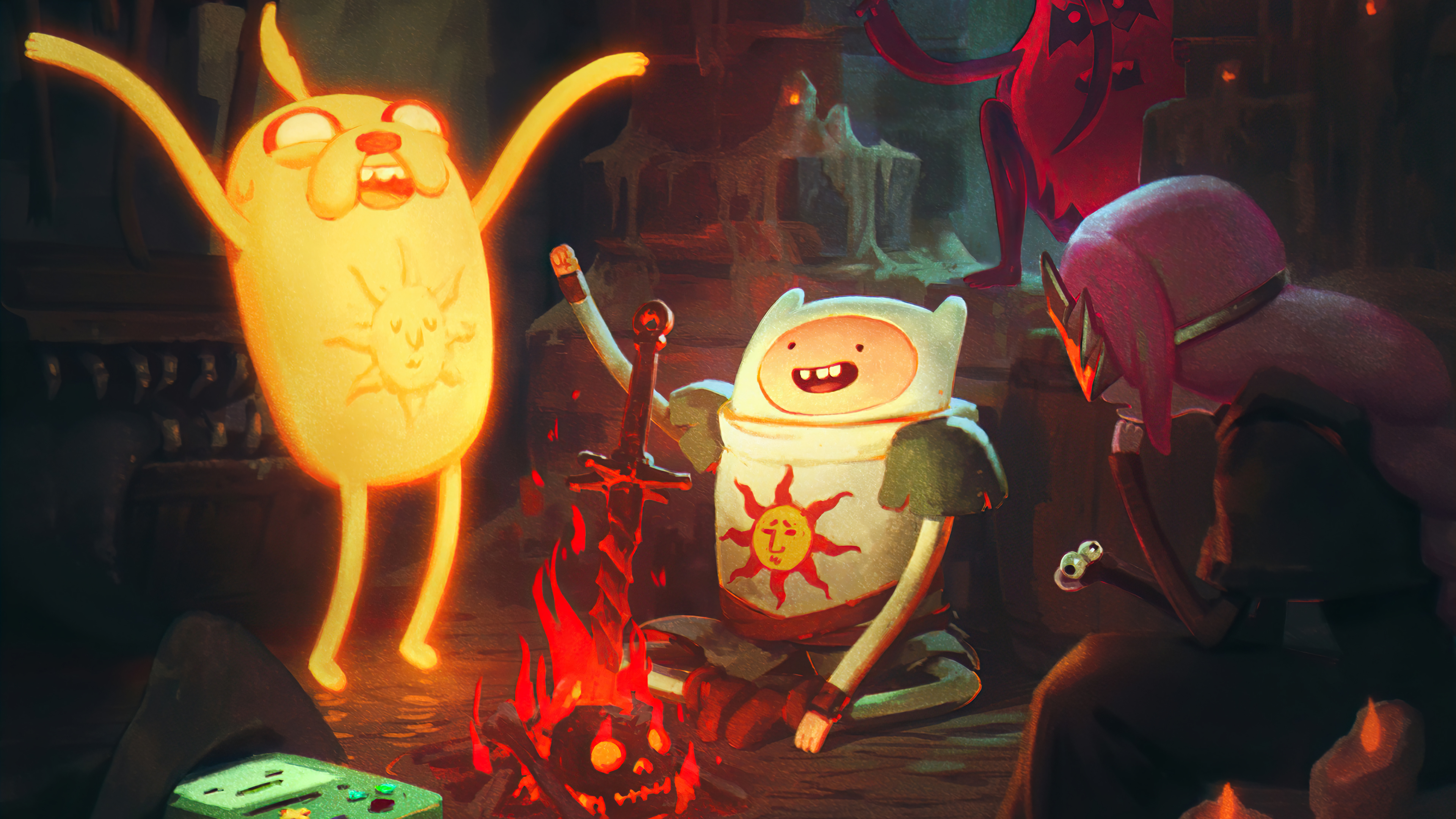 Wallpaper Adventure time Characters