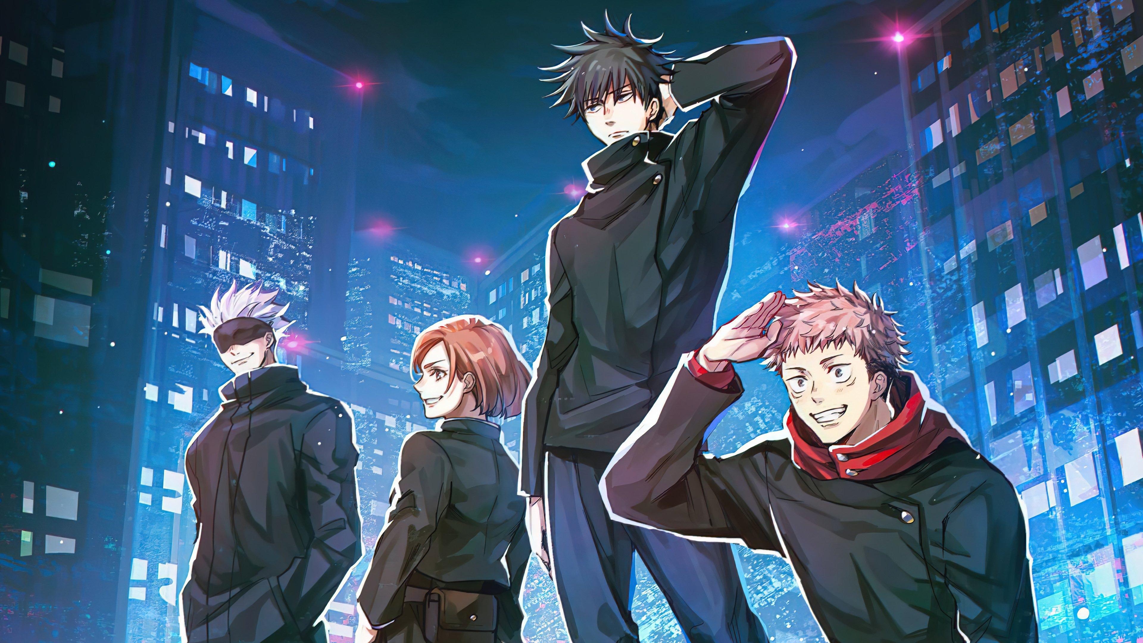 Fondos de pantalla Anime Personajes de Jujutsu Kaisen