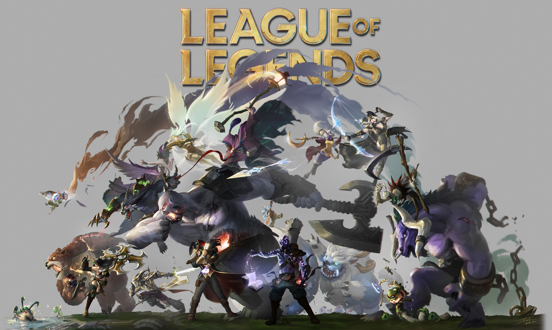 Fondos de pantalla Personajes de League of legends