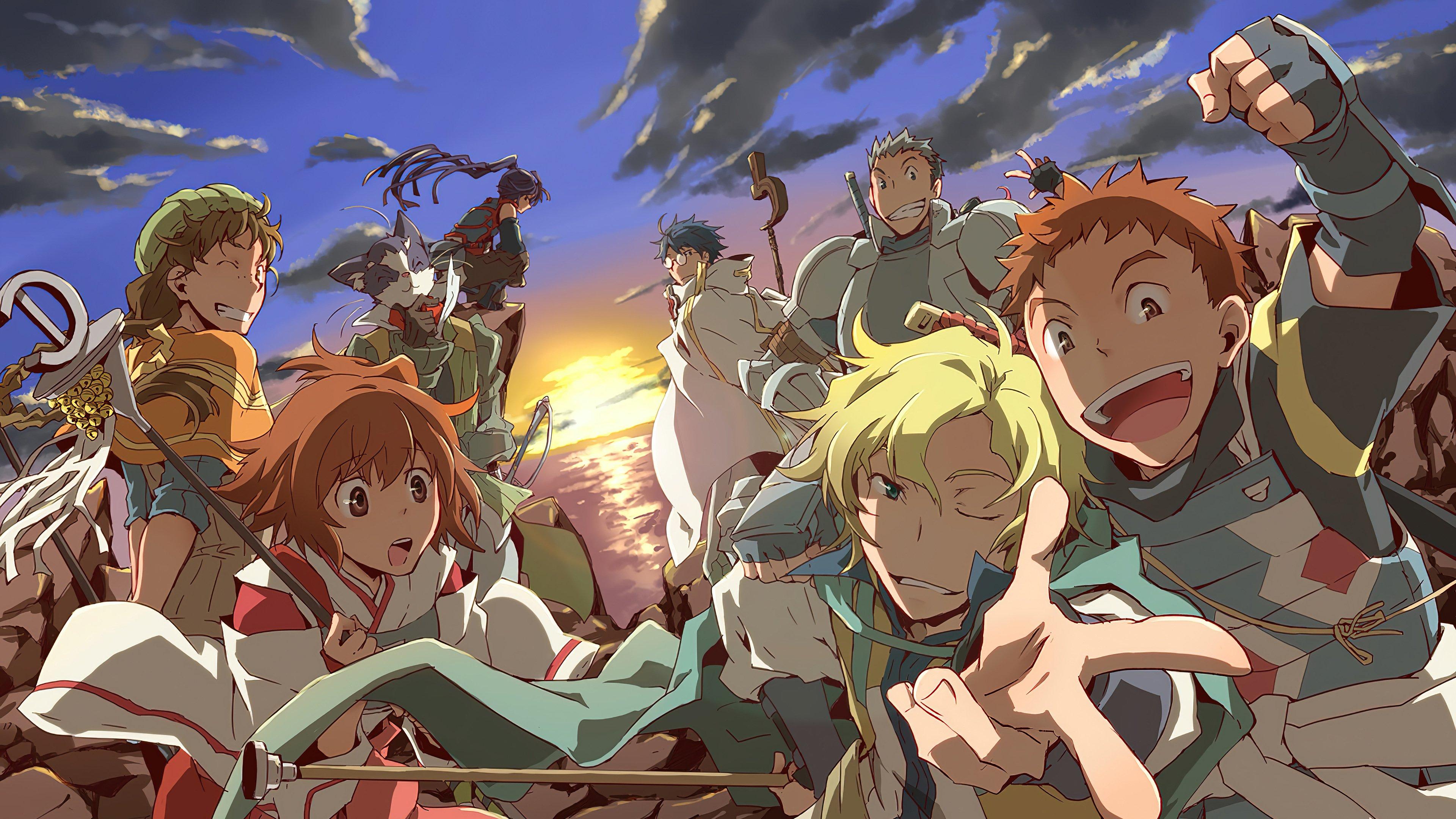 Fondos de pantalla Anime Personajes de Log Horizon