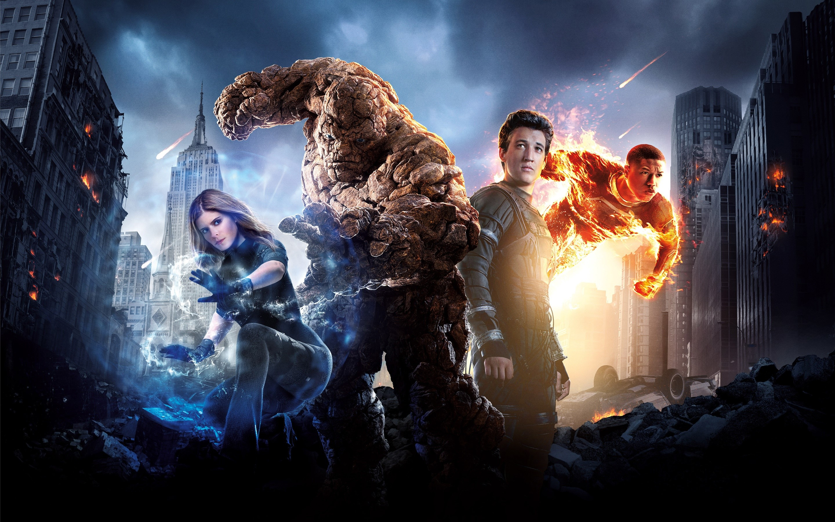 Wallpaper Characters of the Fantastic Four
