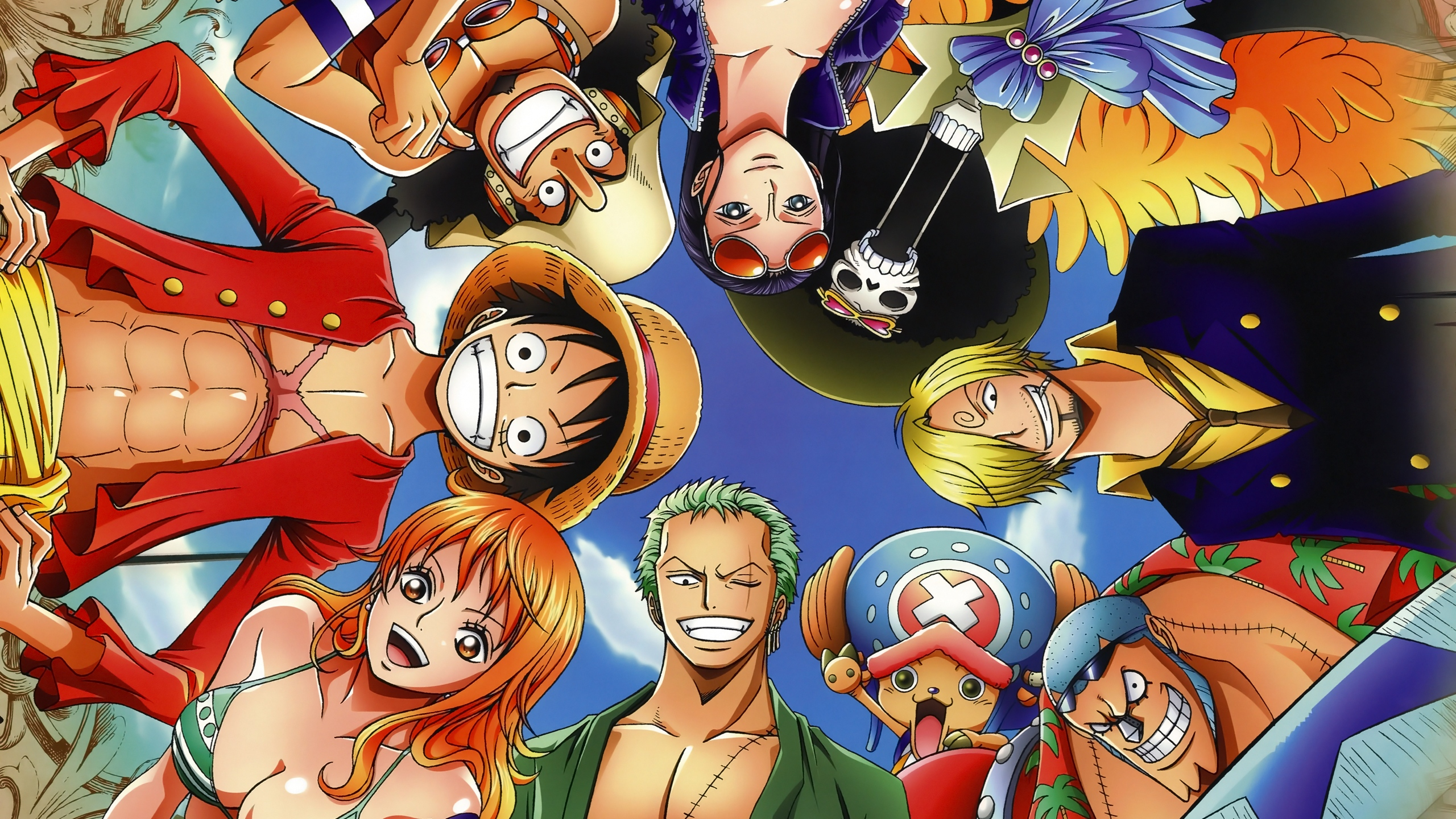 Anime Wallpaper Characters from One Piece