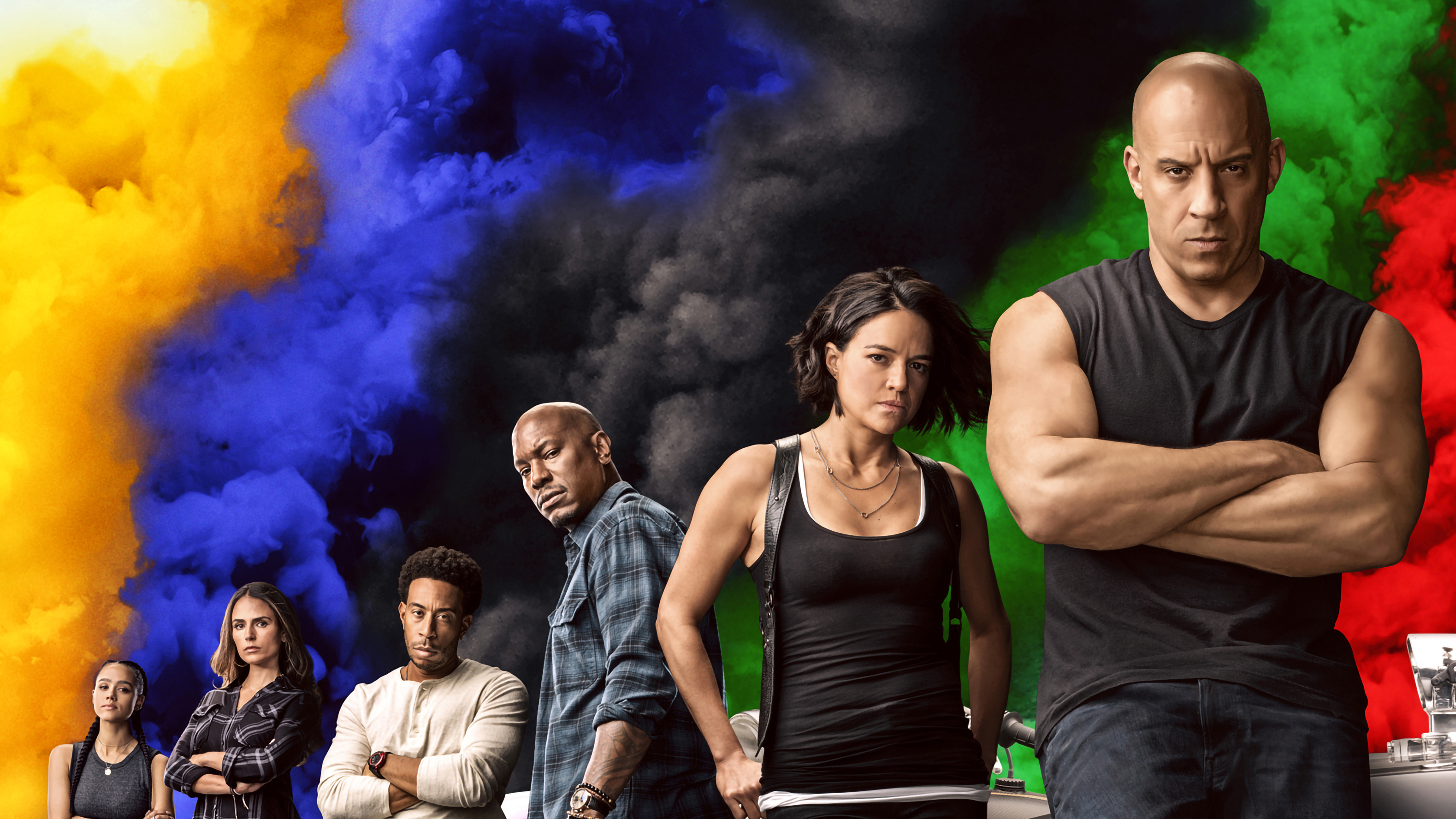 Wallpaper Characters from Fast and Furious 9