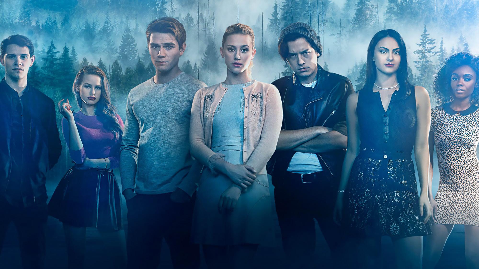 Fondos de pantalla Personajes de Riverdale en el bosque