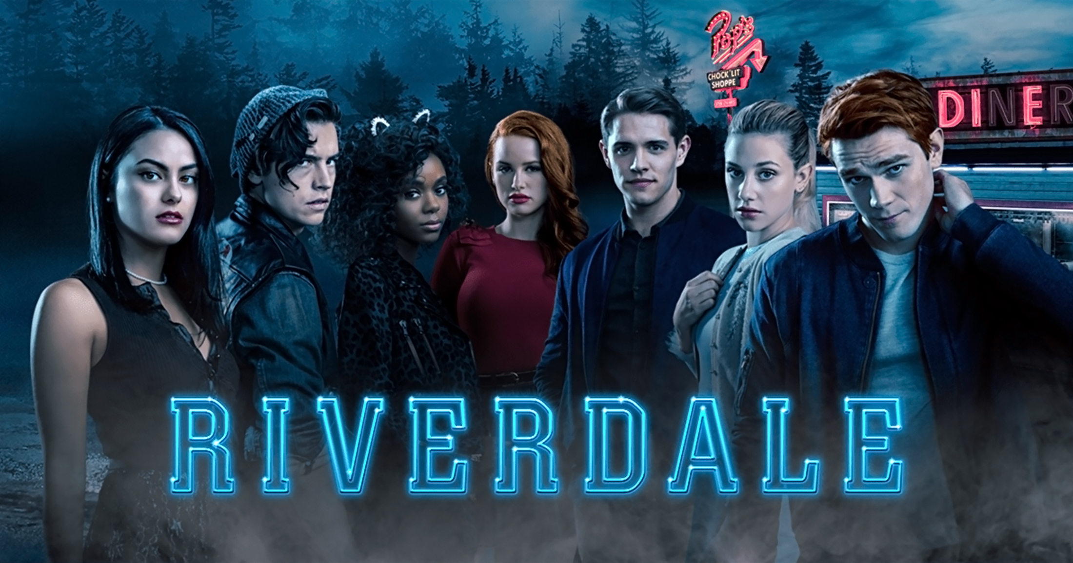 Wallpaper Riverdale characters Poster