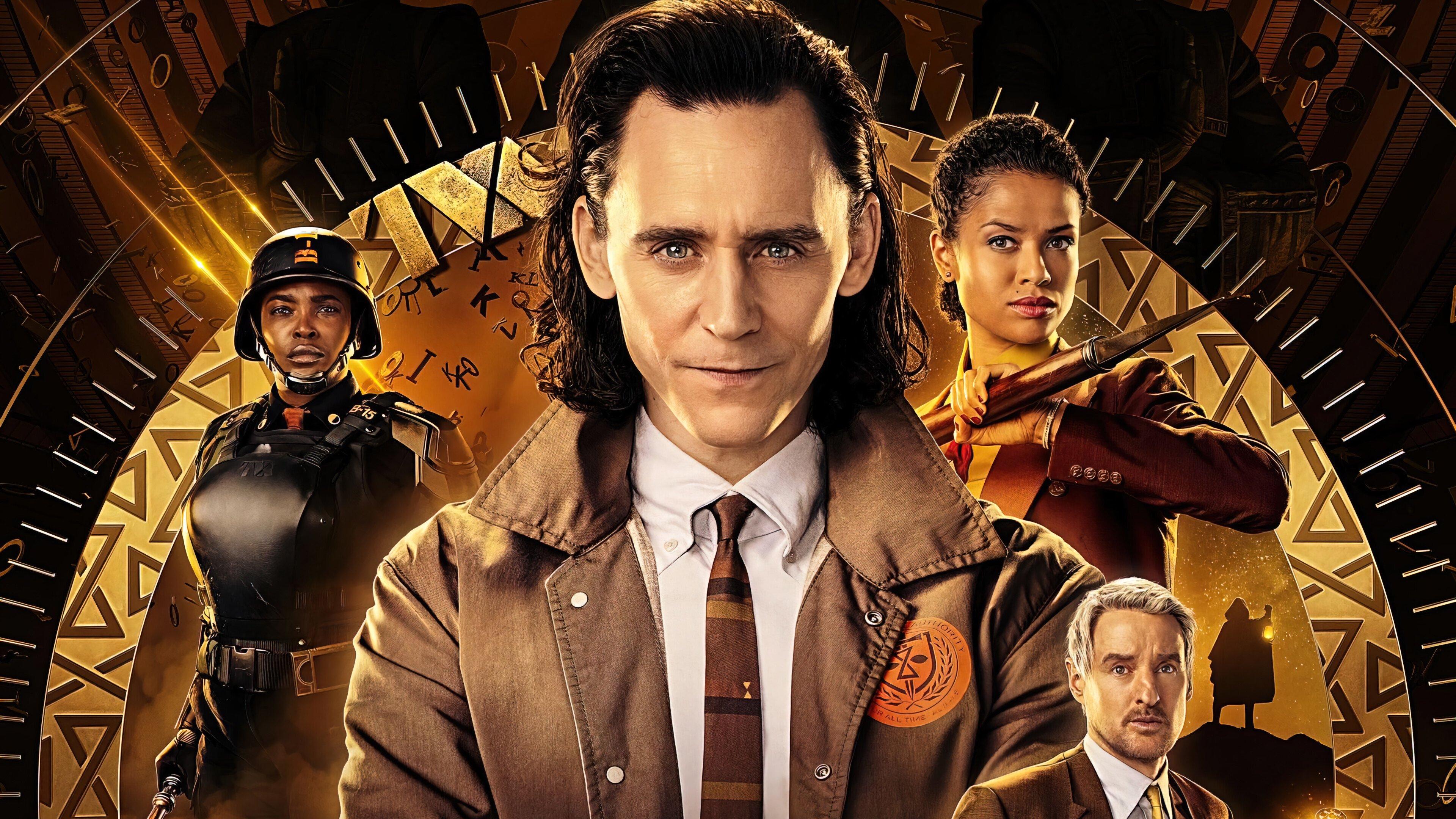 Wallpaper Loki series characters