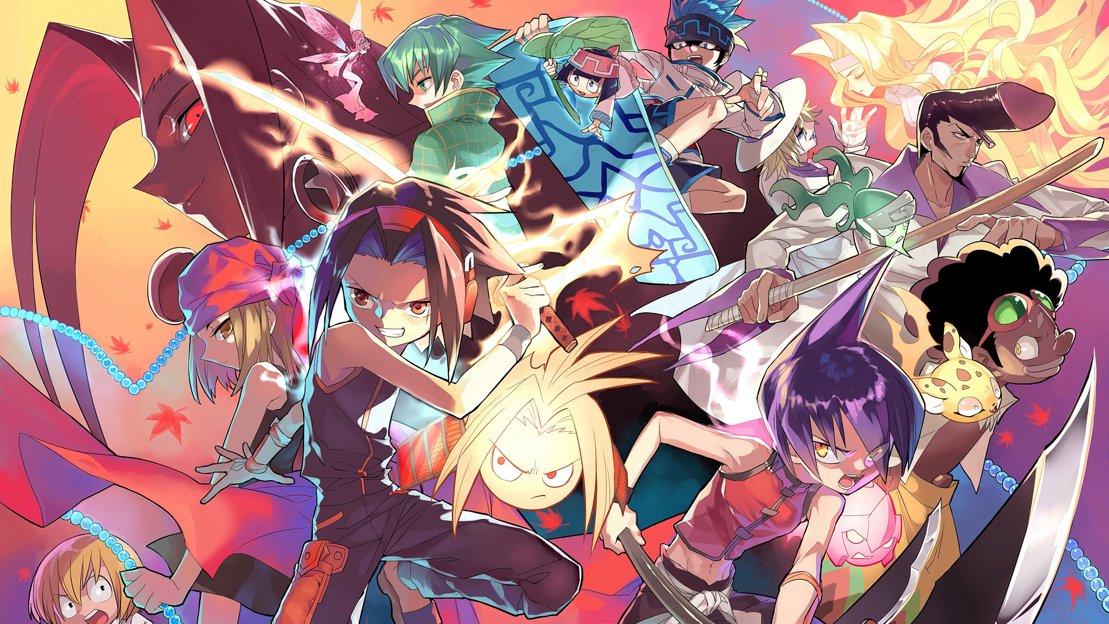 Anime Wallpaper Shaman King Characters 2021
