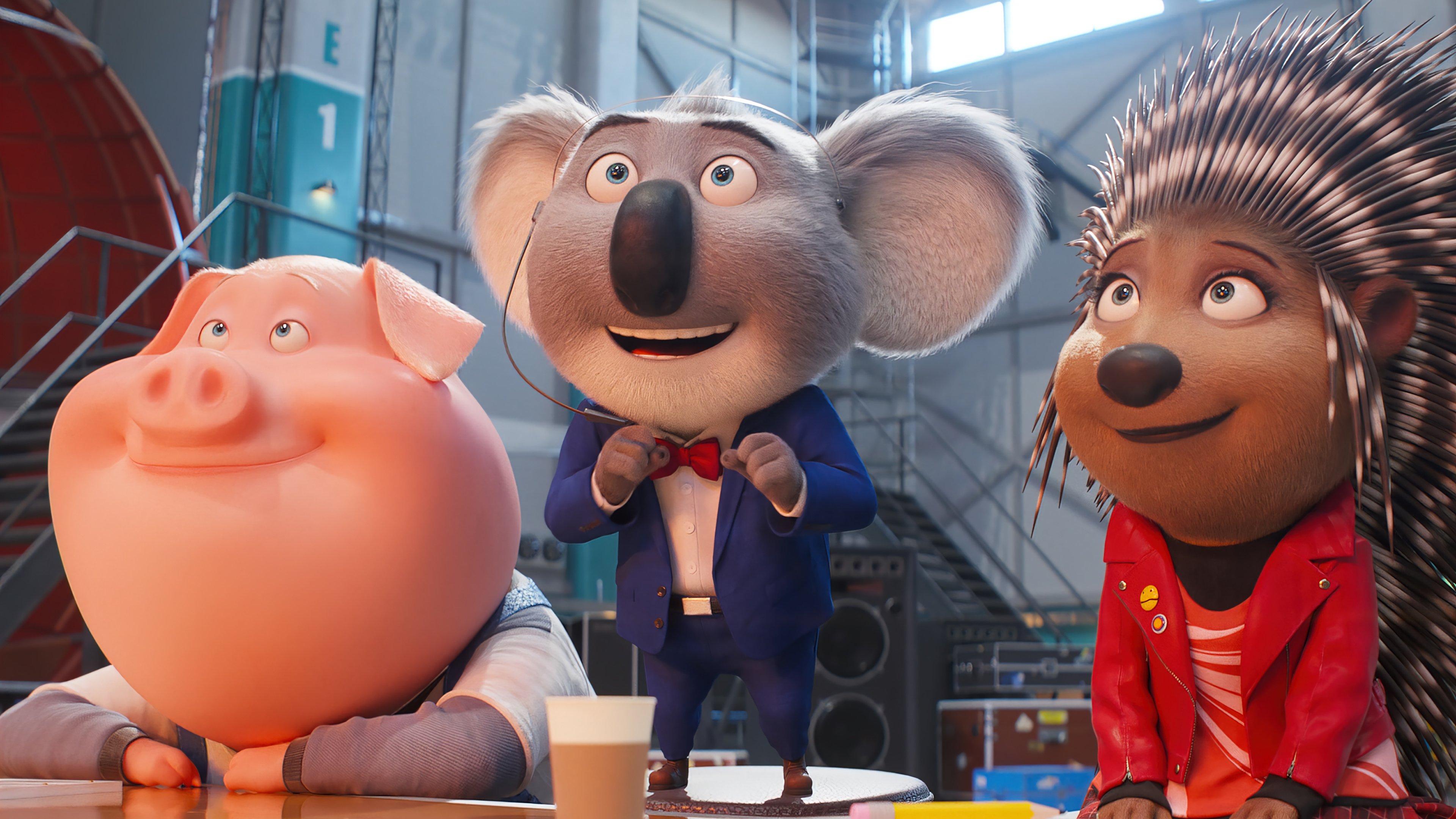 Fondos de pantalla Personajes de Sing 2