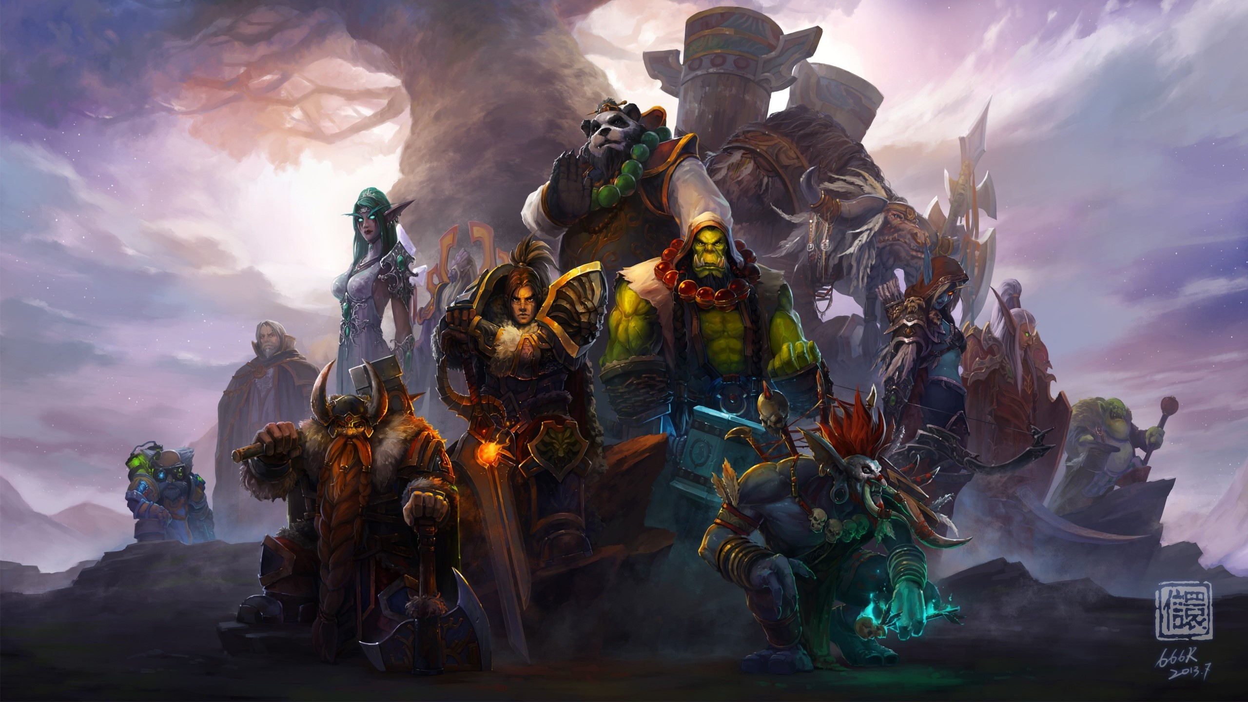 Fondos de pantalla Personajes de World of warcraft