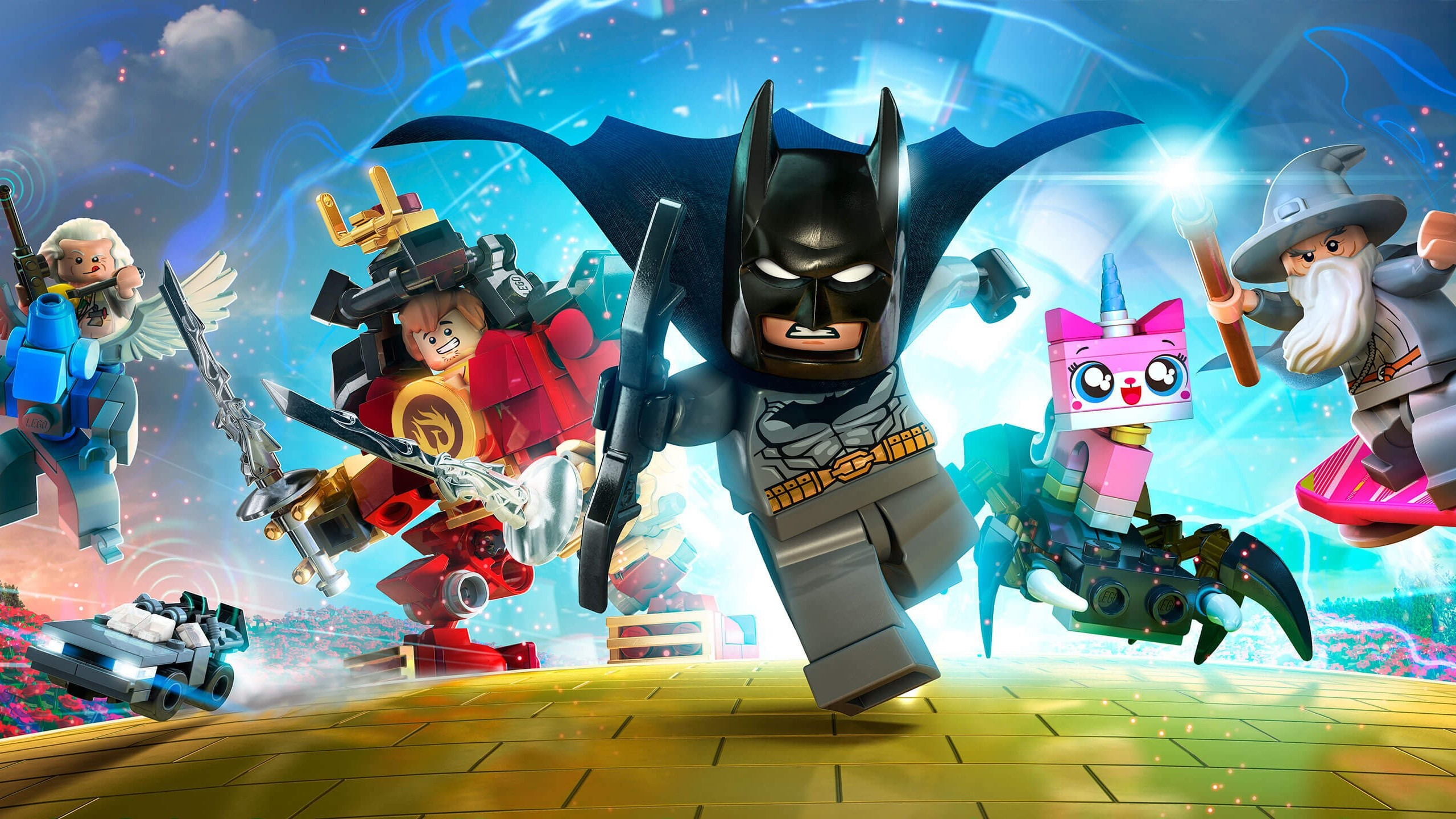 Wallpaper Characters of the game Lego Dimensions