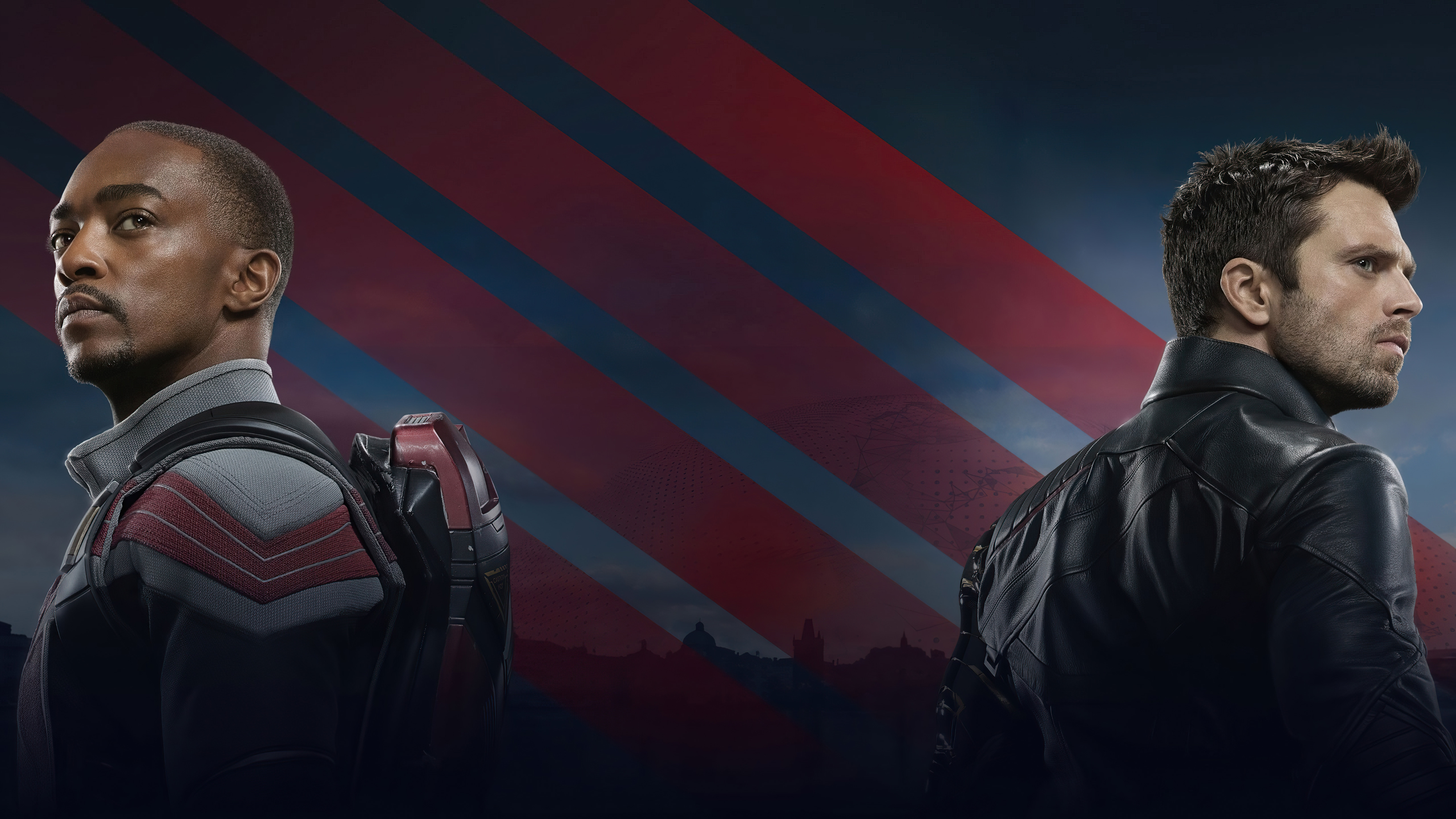 Wallpaper Characters The Falcon and the Winter Soldier