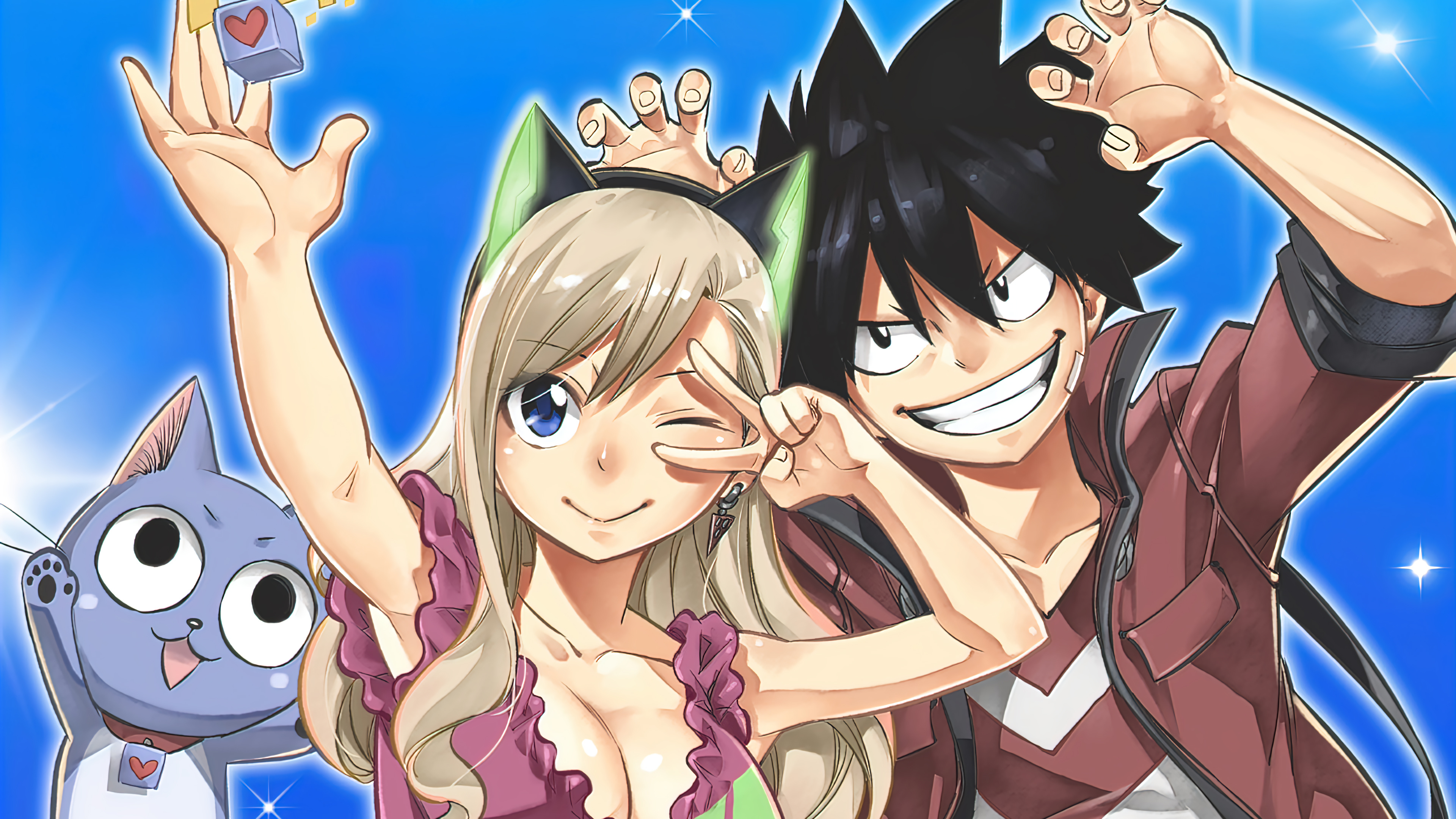 Fondos de pantalla Anime Personajes Shiki y Rebecca de Edens Zero