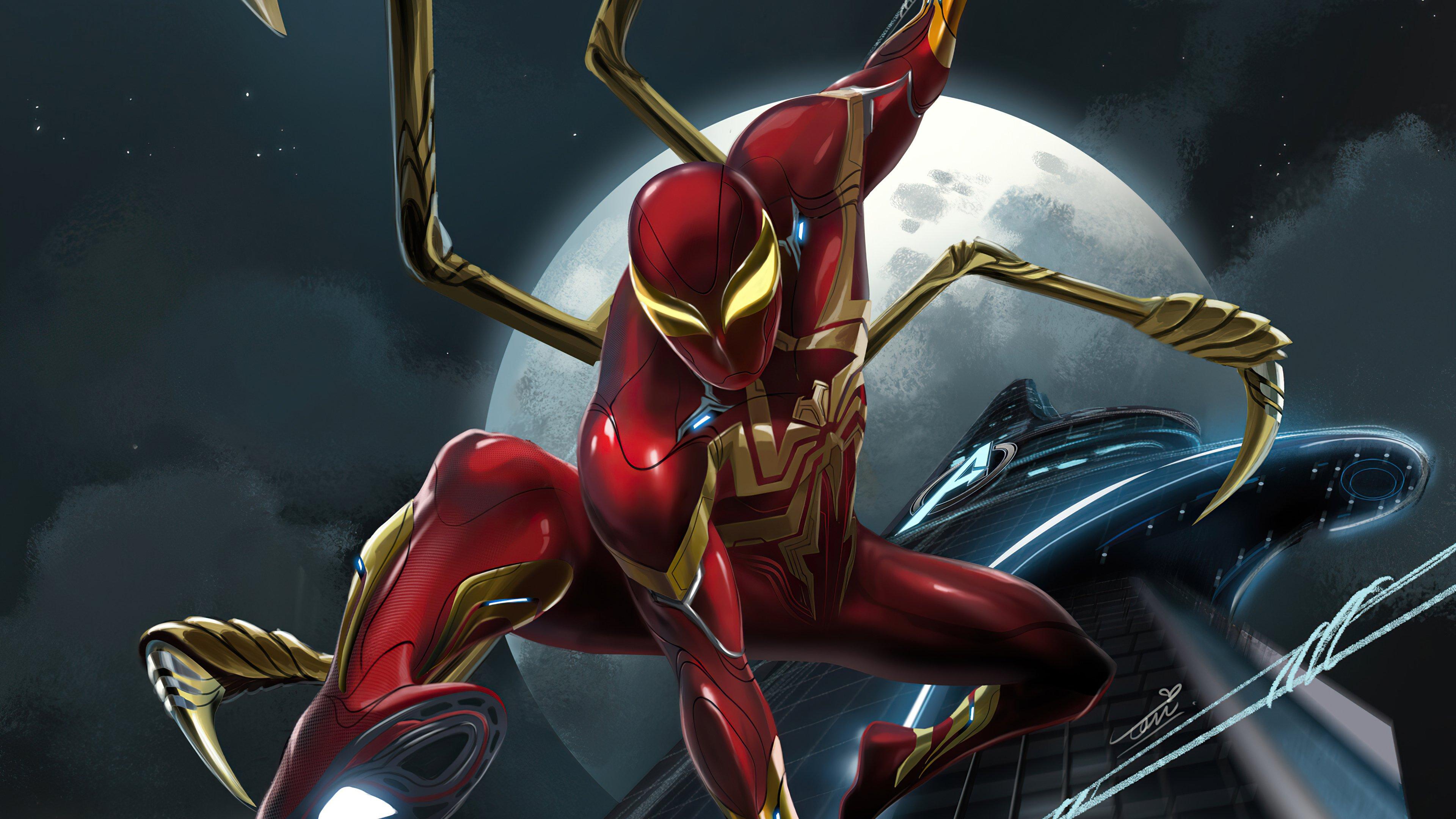 Fondos de pantalla Peter Parker Iron Spider
