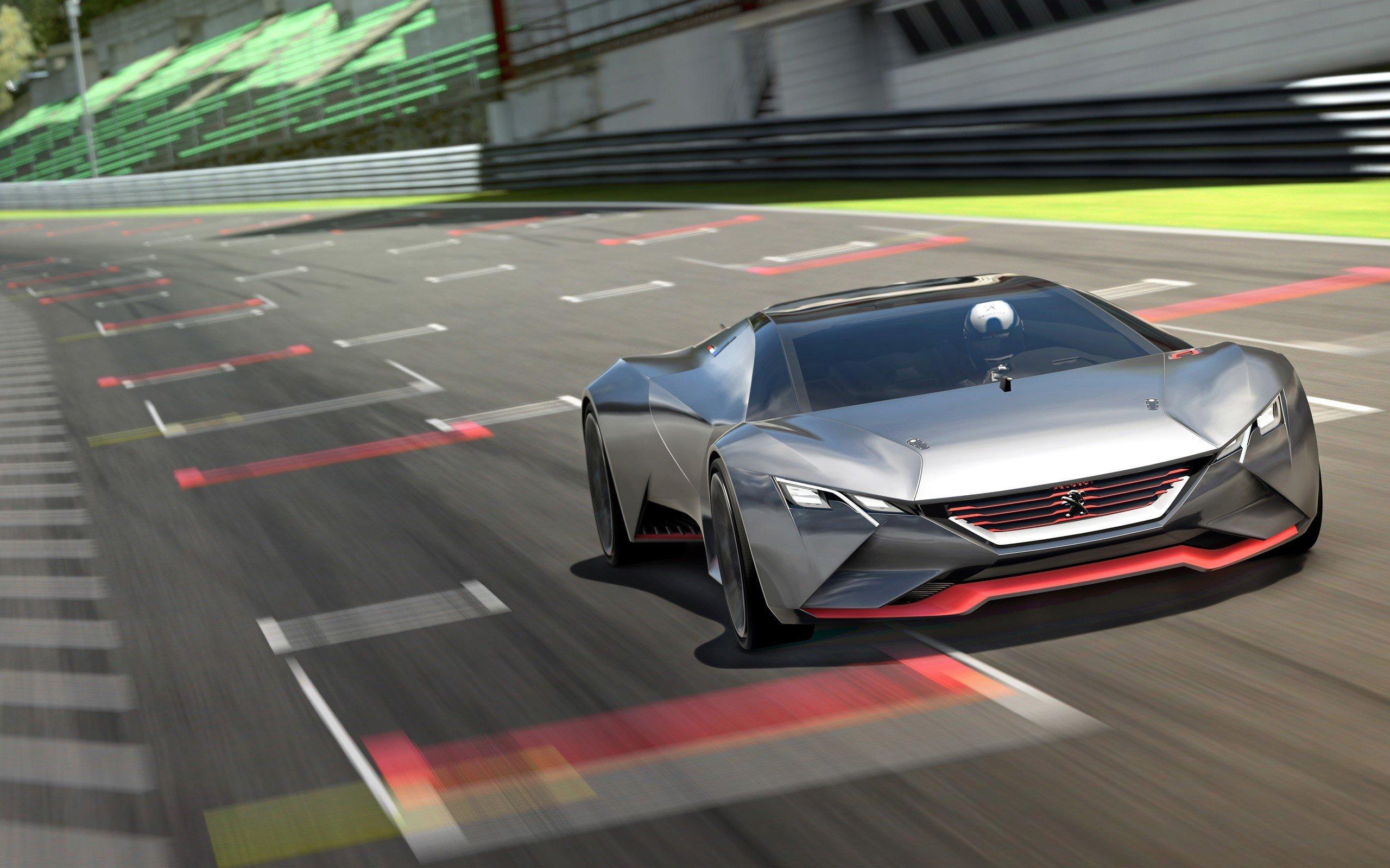 Wallpaper Peugeot Vision in Gran Turismo