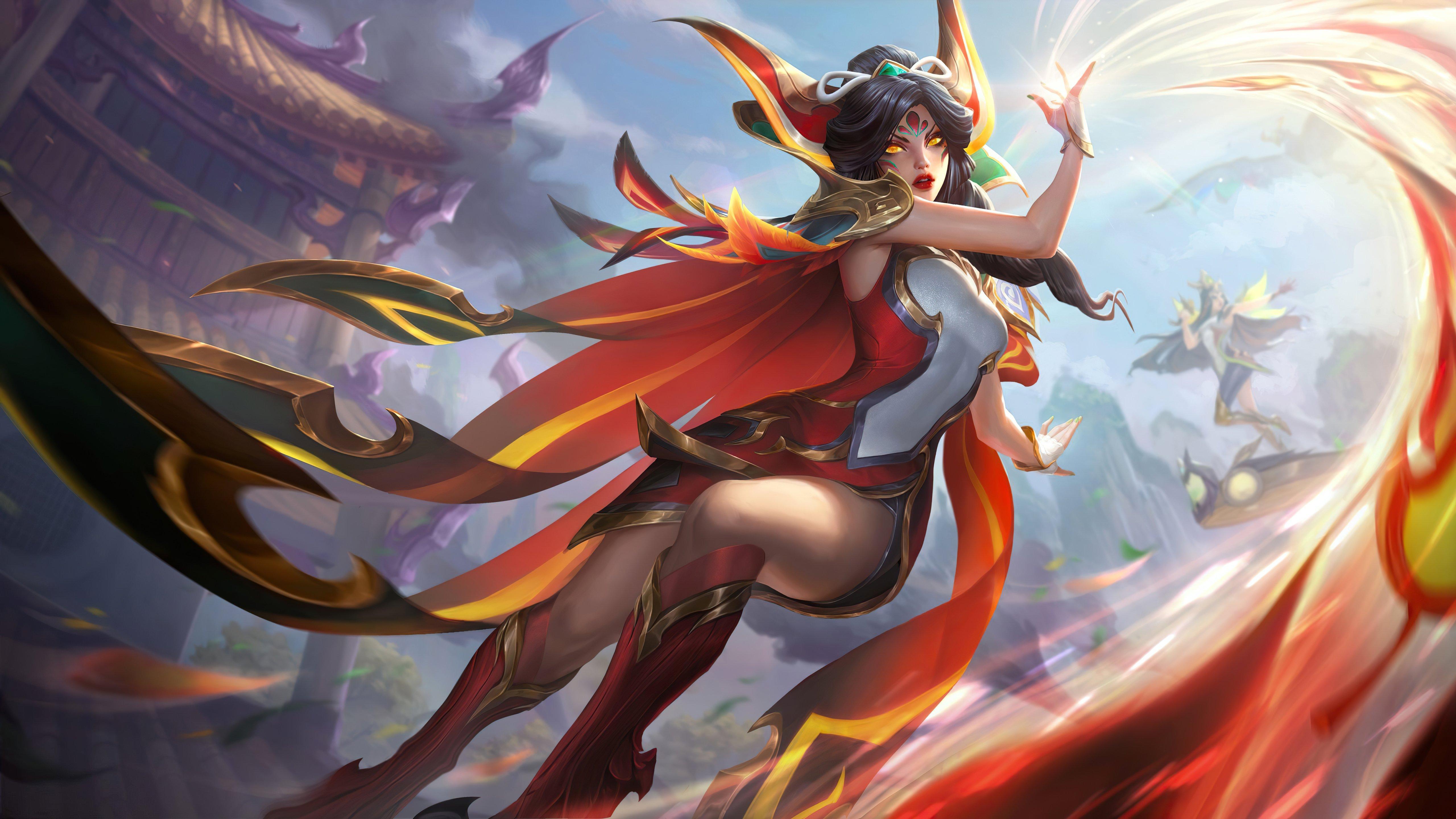 Fondos de pantalla Phoenix League of Legends