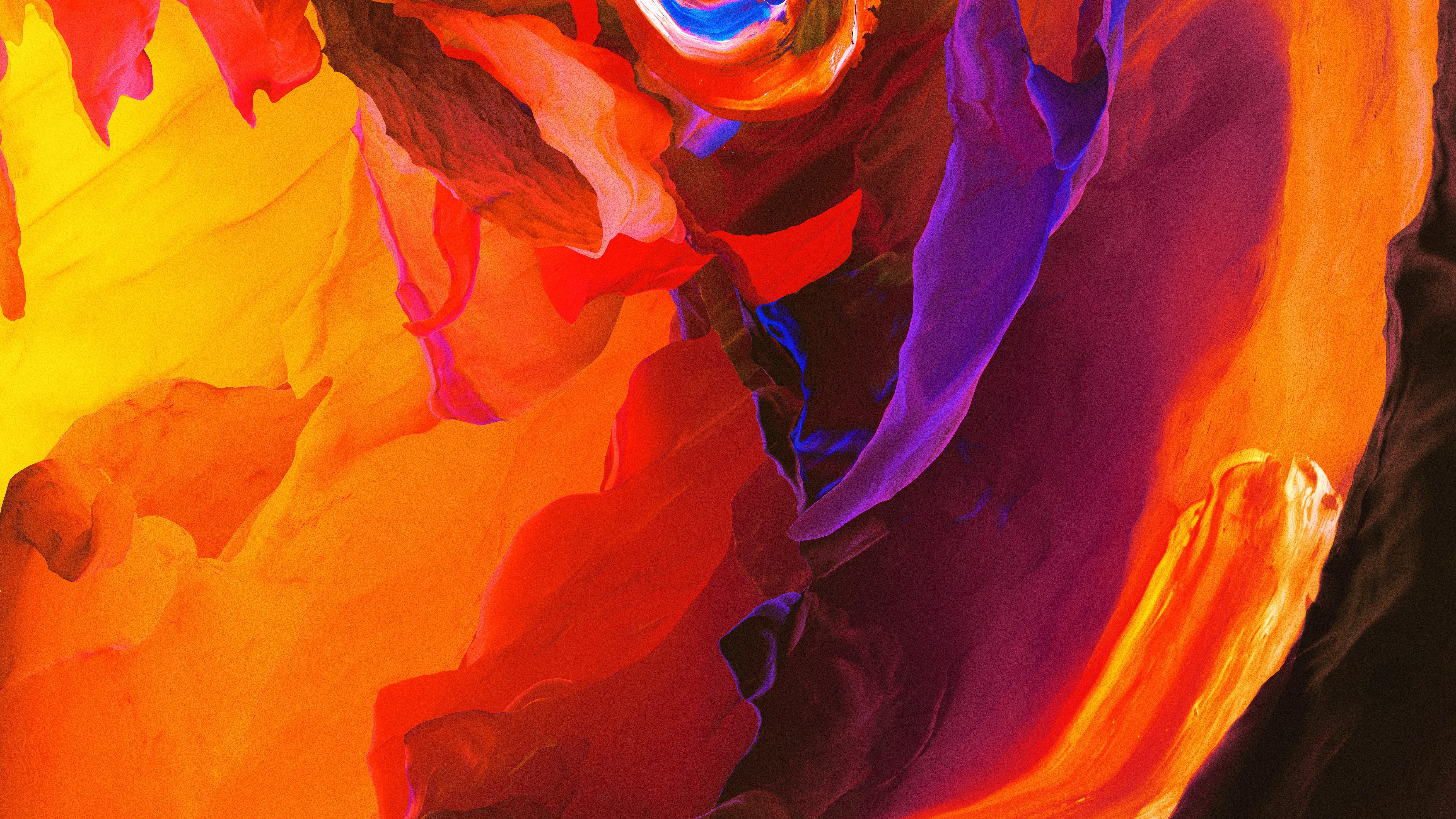 Fondos de pantalla Pinturas en figuras coloridas y abstractas