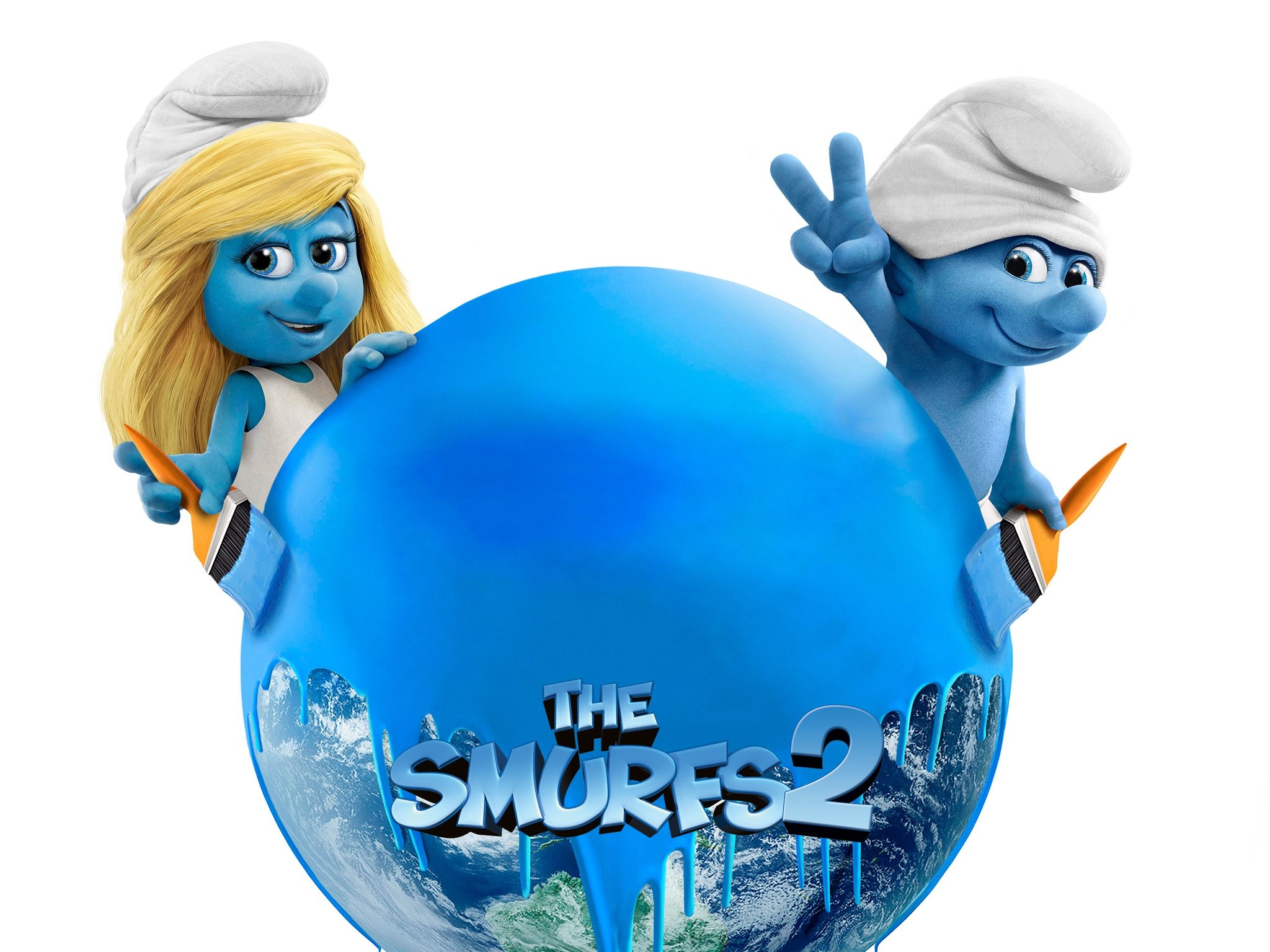 Wallpaper Smurfs 2