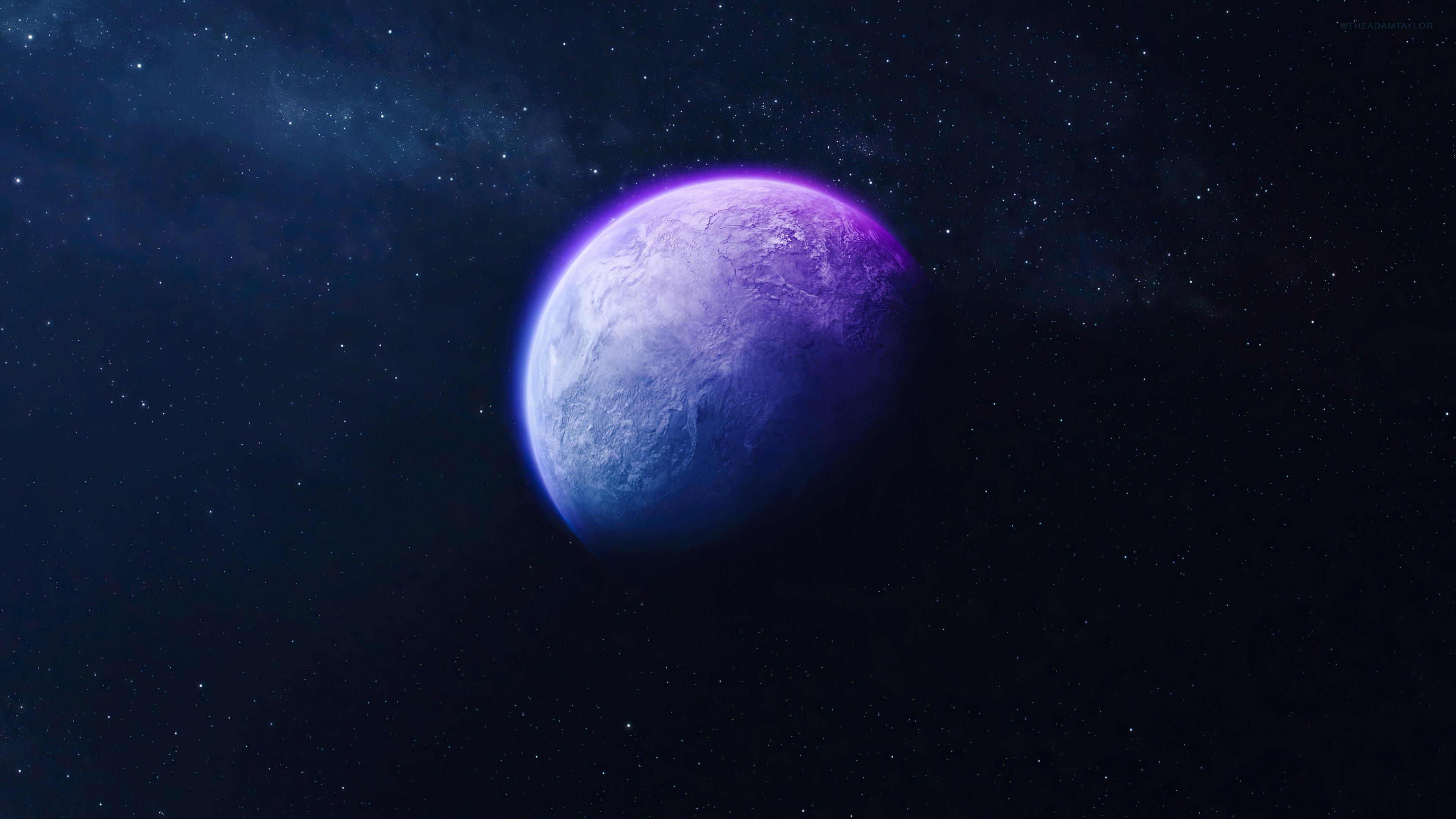 Fondos de pantalla Planeta aislado