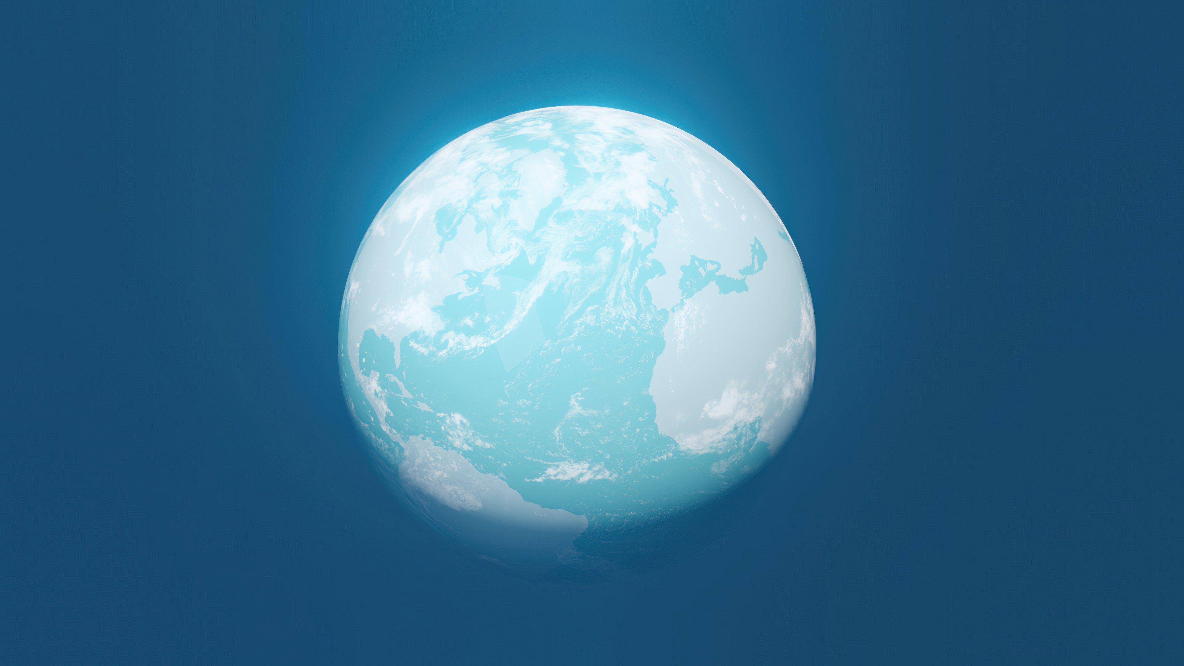 Wallpaper Blue planet