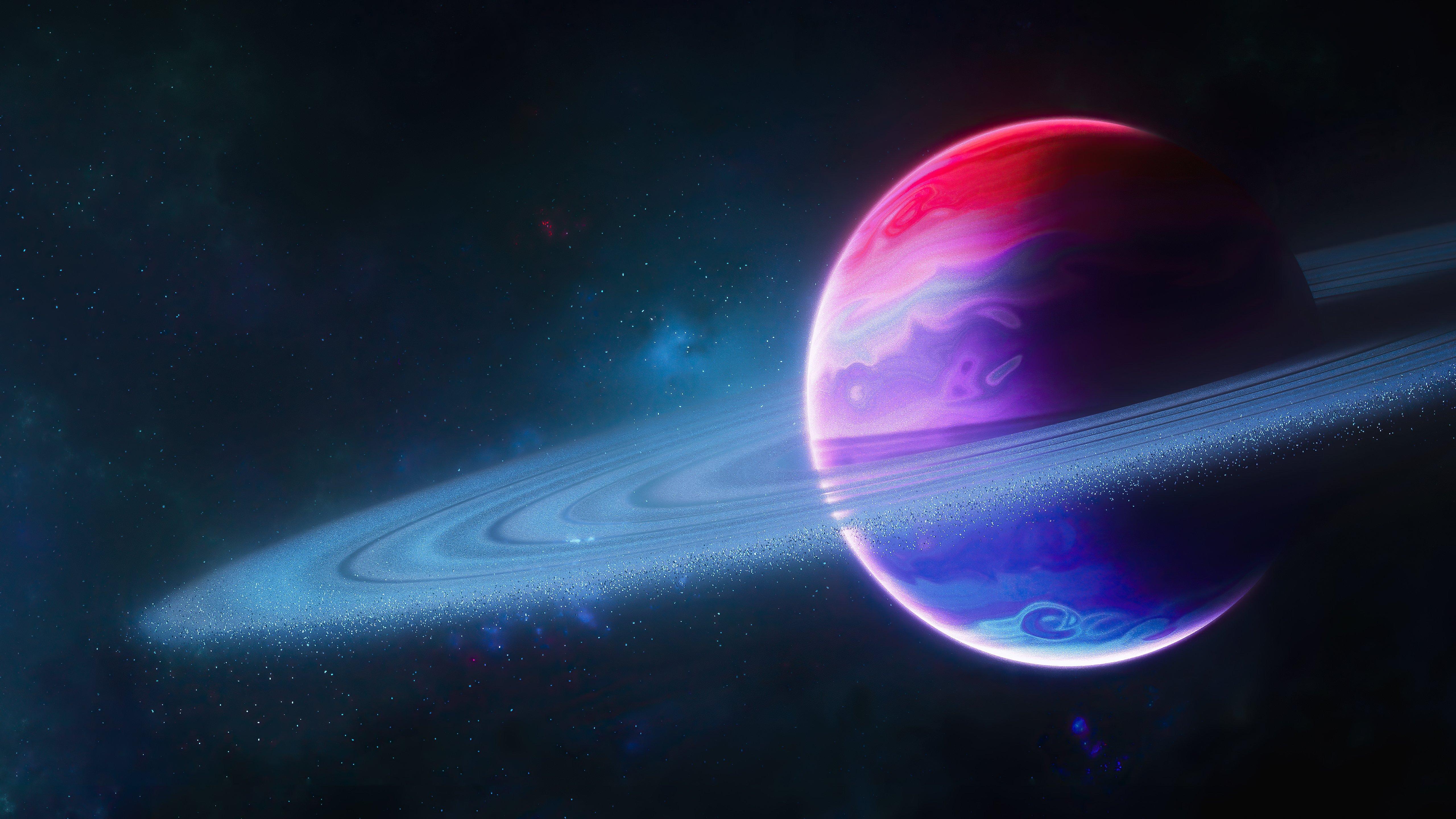 Fondos de pantalla Planeta con aro