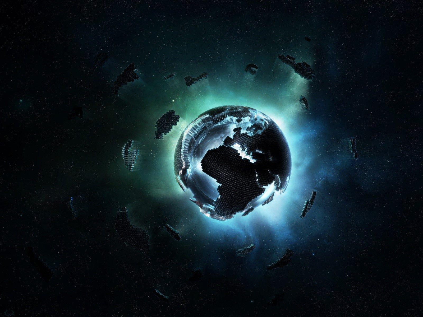Wallpaper Planeta de pixeles Images