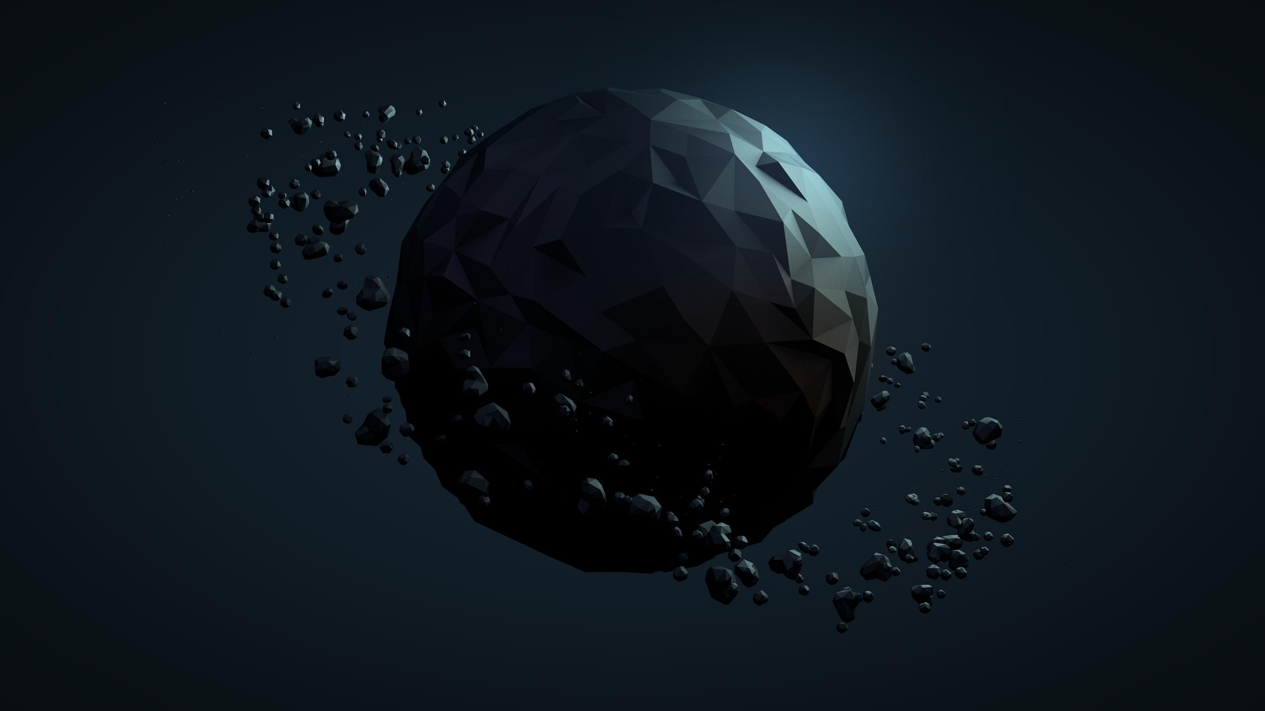 Fondos de pantalla Planeta poligonal Low poly