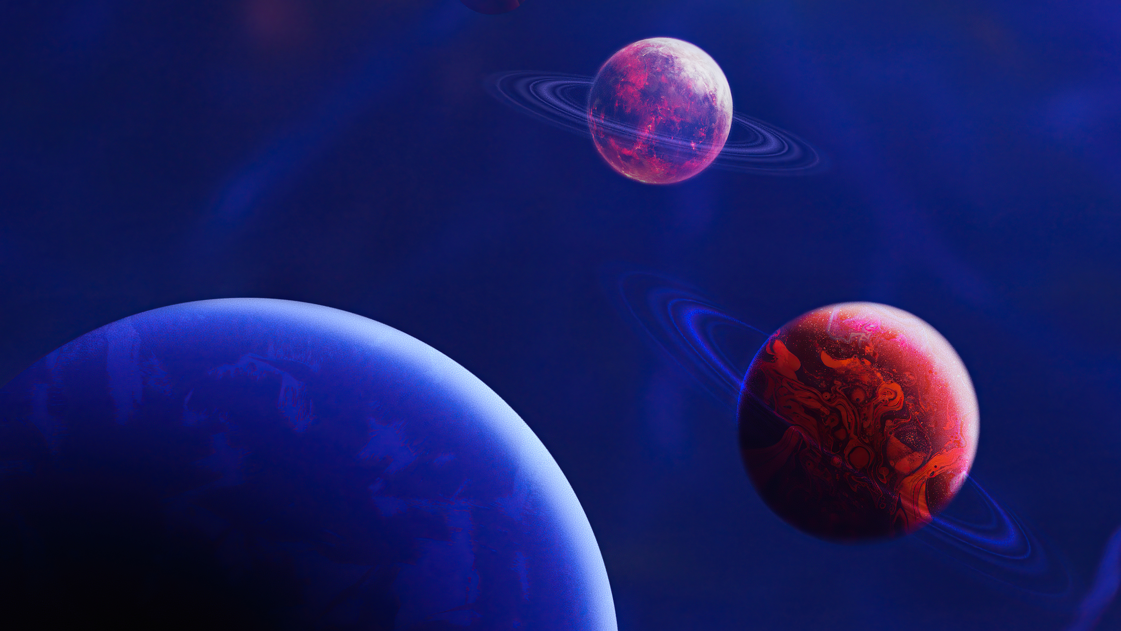 Fondos de pantalla Planetas digitales