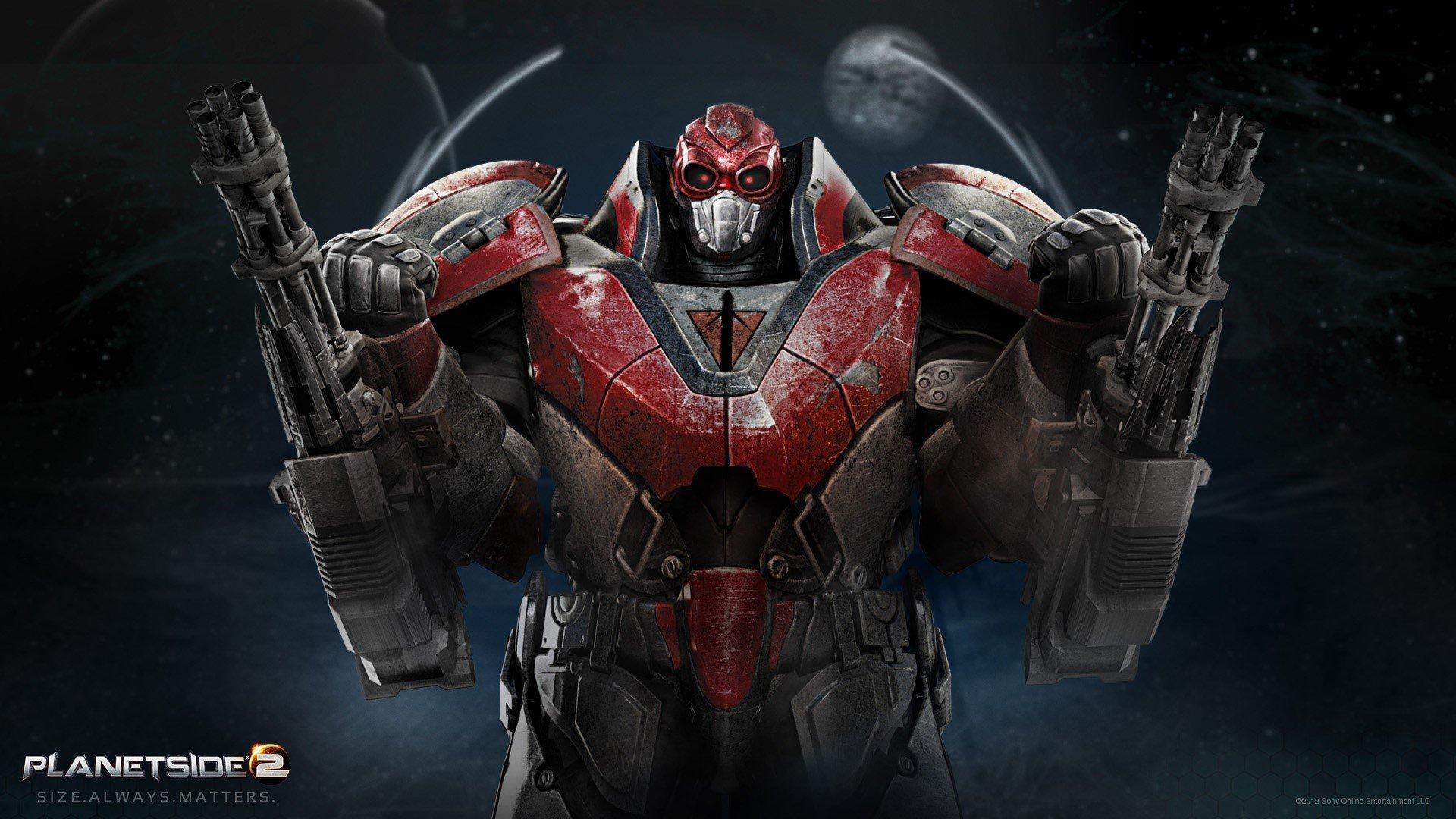Fondos de pantalla Planetside 2 Max Suit
