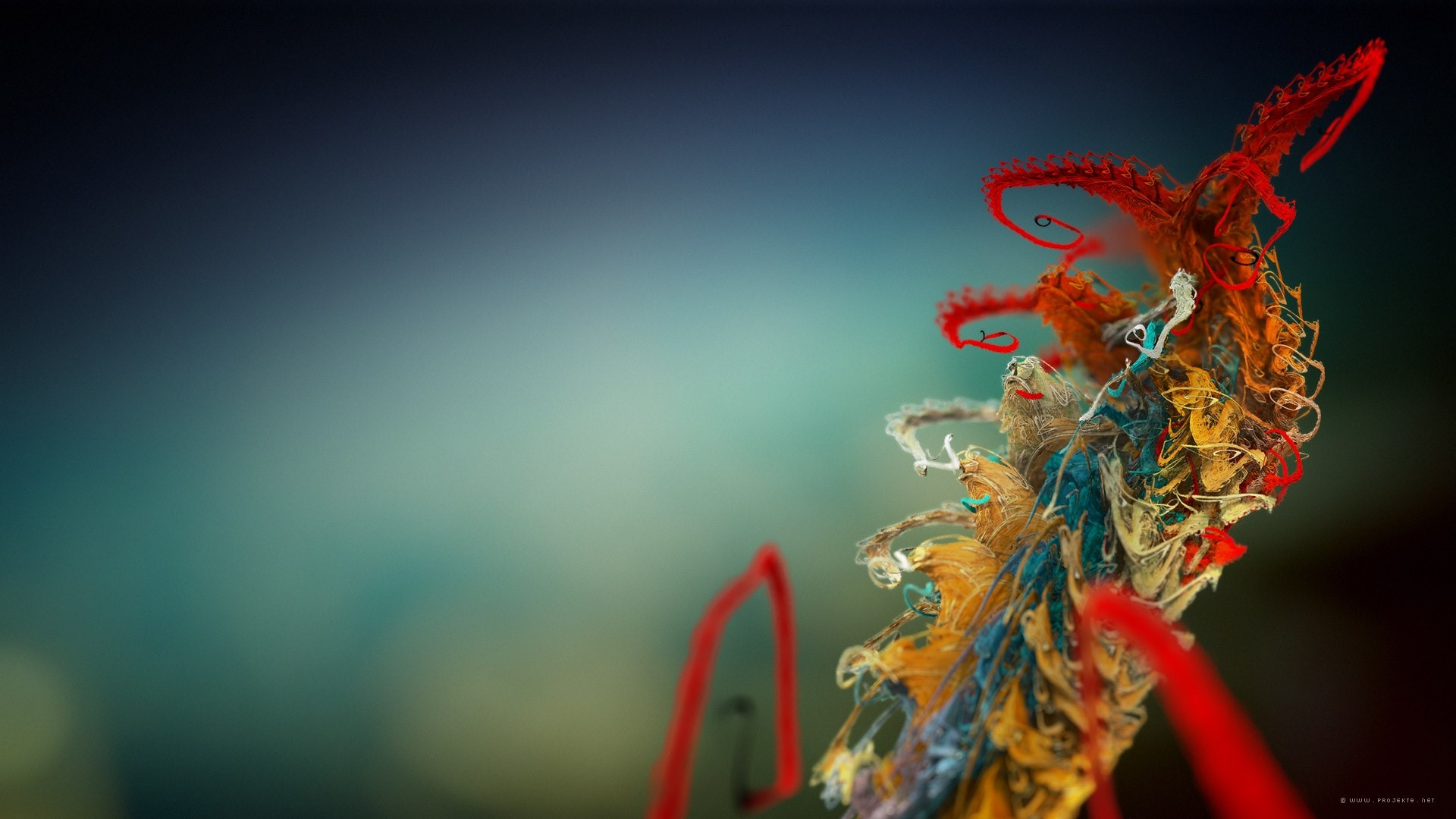 Wallpaper Microscopic plant
