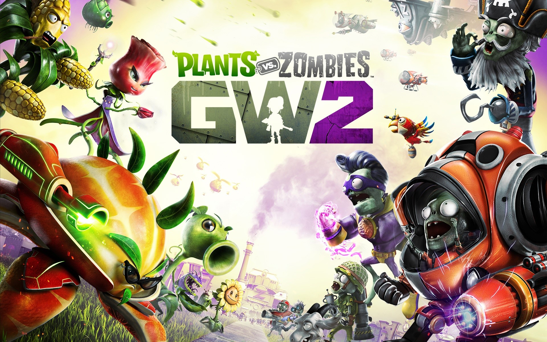 Fondos de pantalla Plants vs Zombies Garden Warfare 2