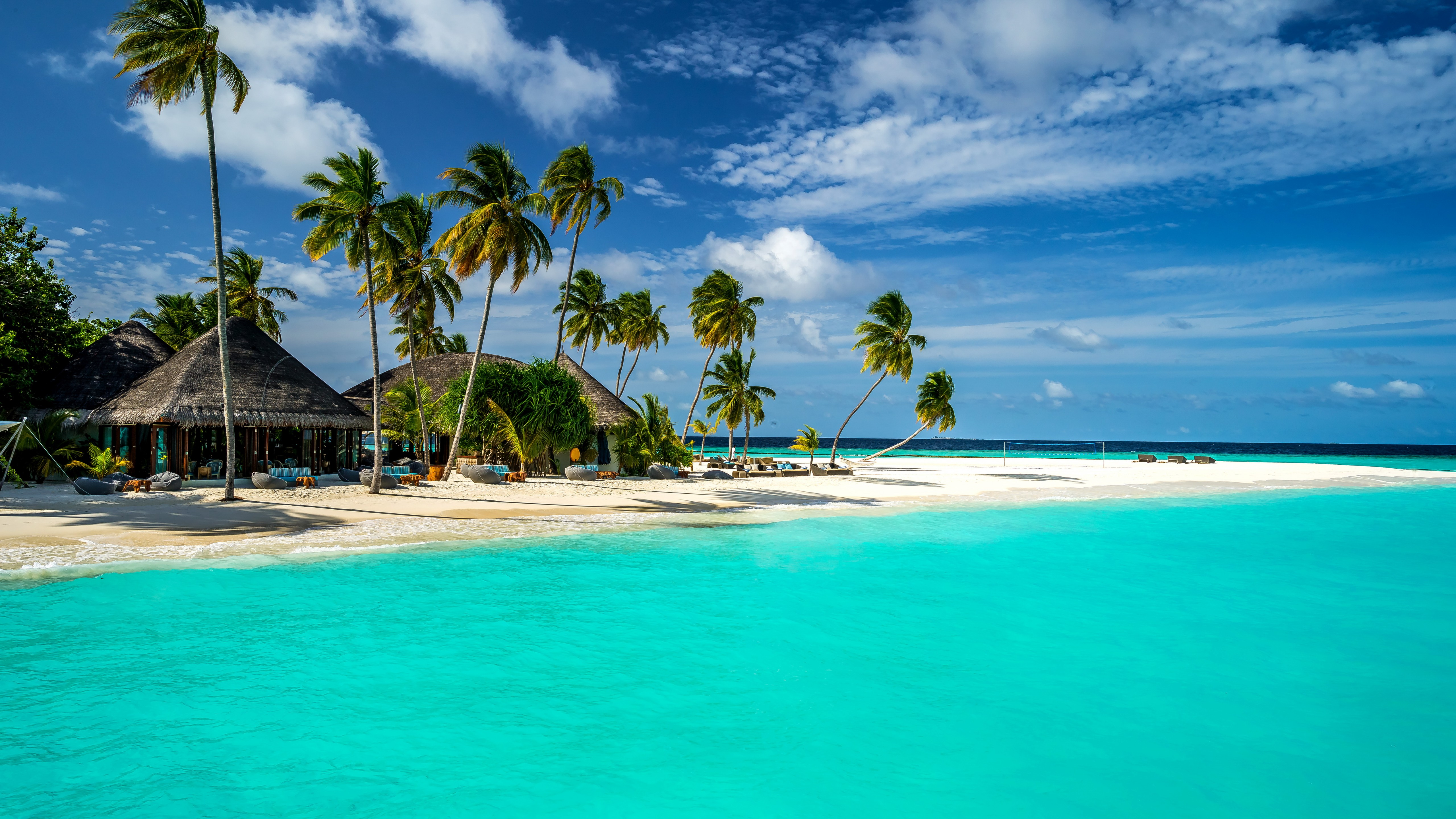Wallpaper Beach in Maldives