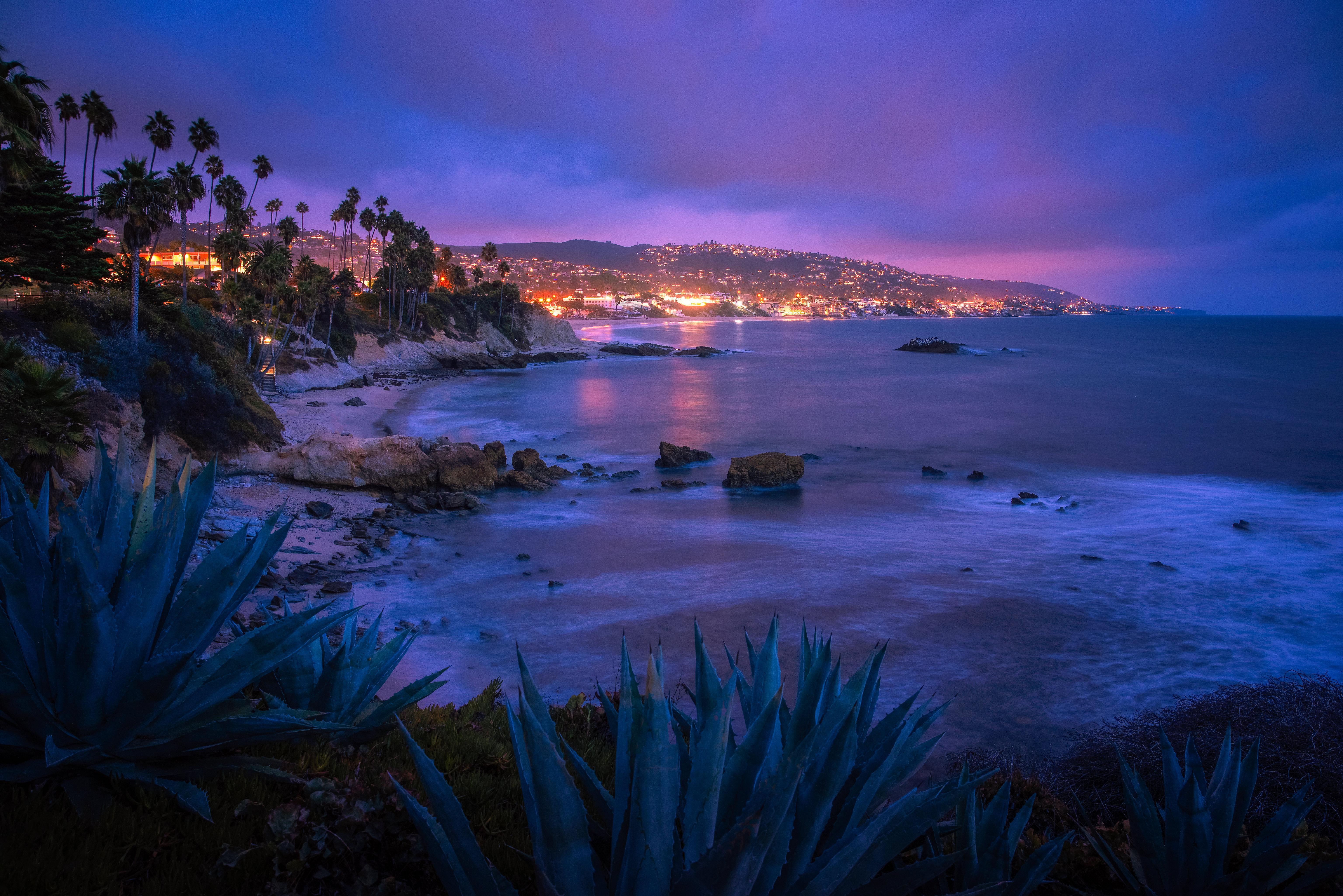 Fondos de pantalla Playa Laguna en Orange County