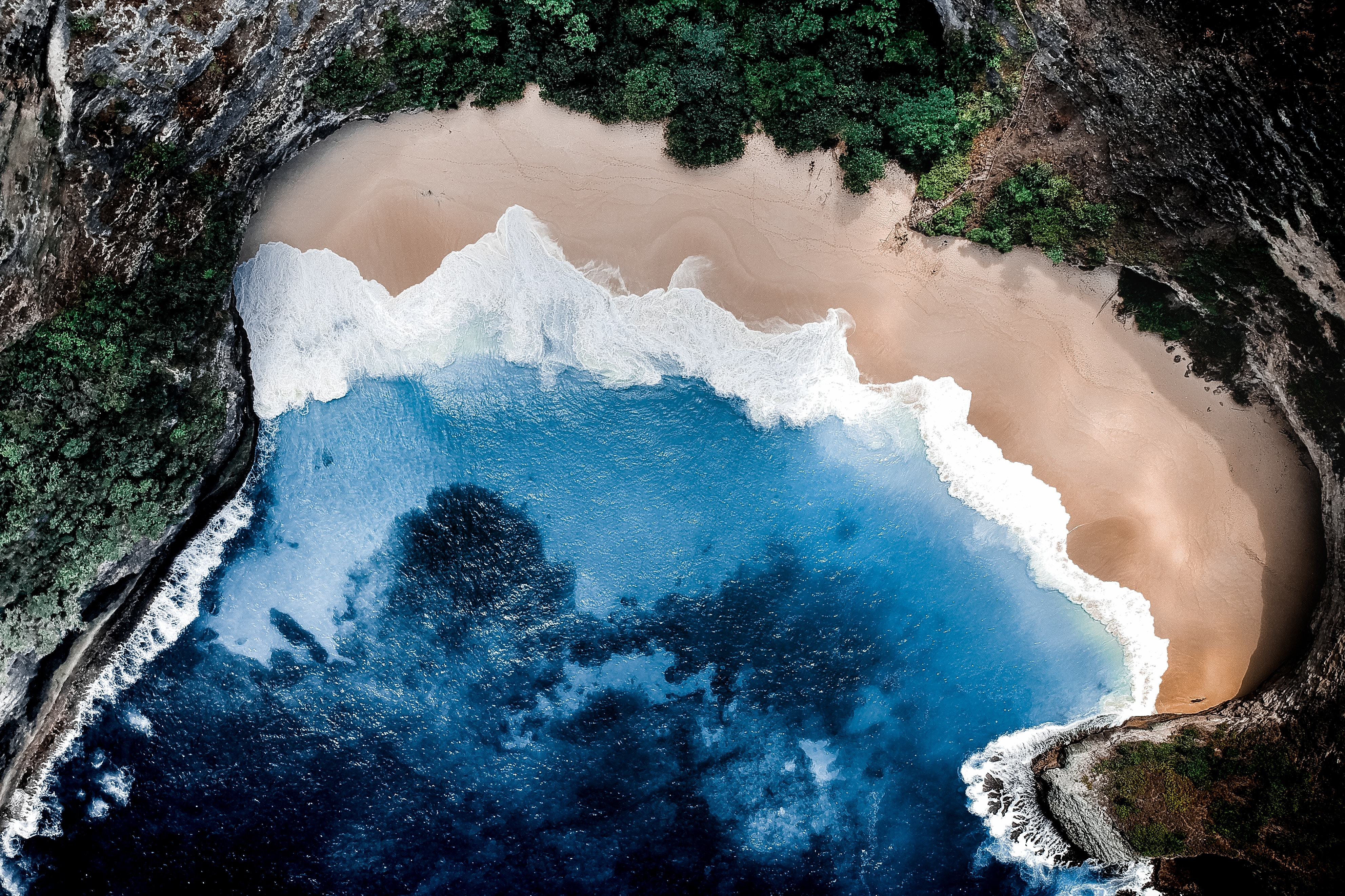 Fondos de pantalla Playa océano azul