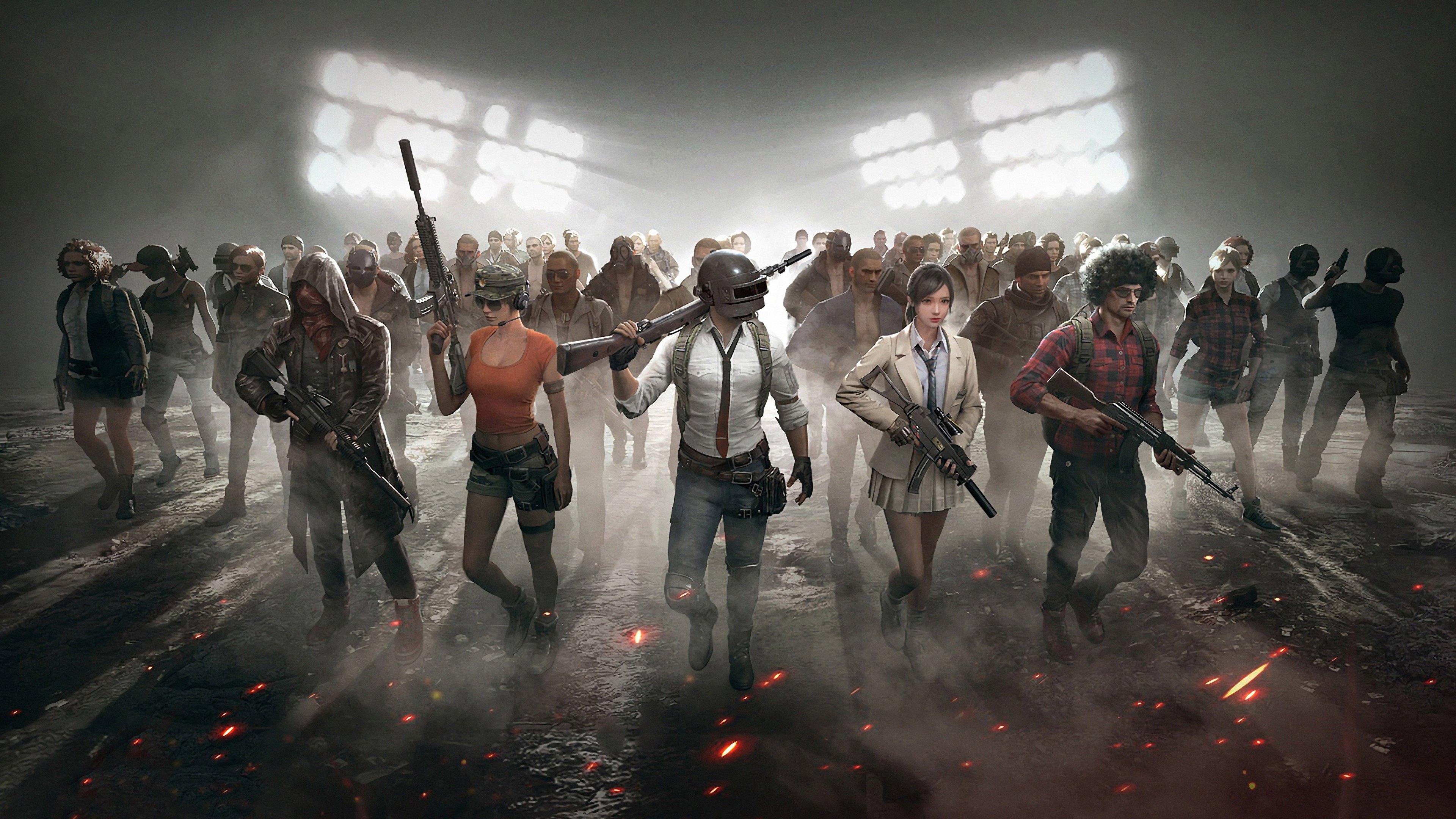 Wallpaper PlayerUnknown's Battlegrounds Characters