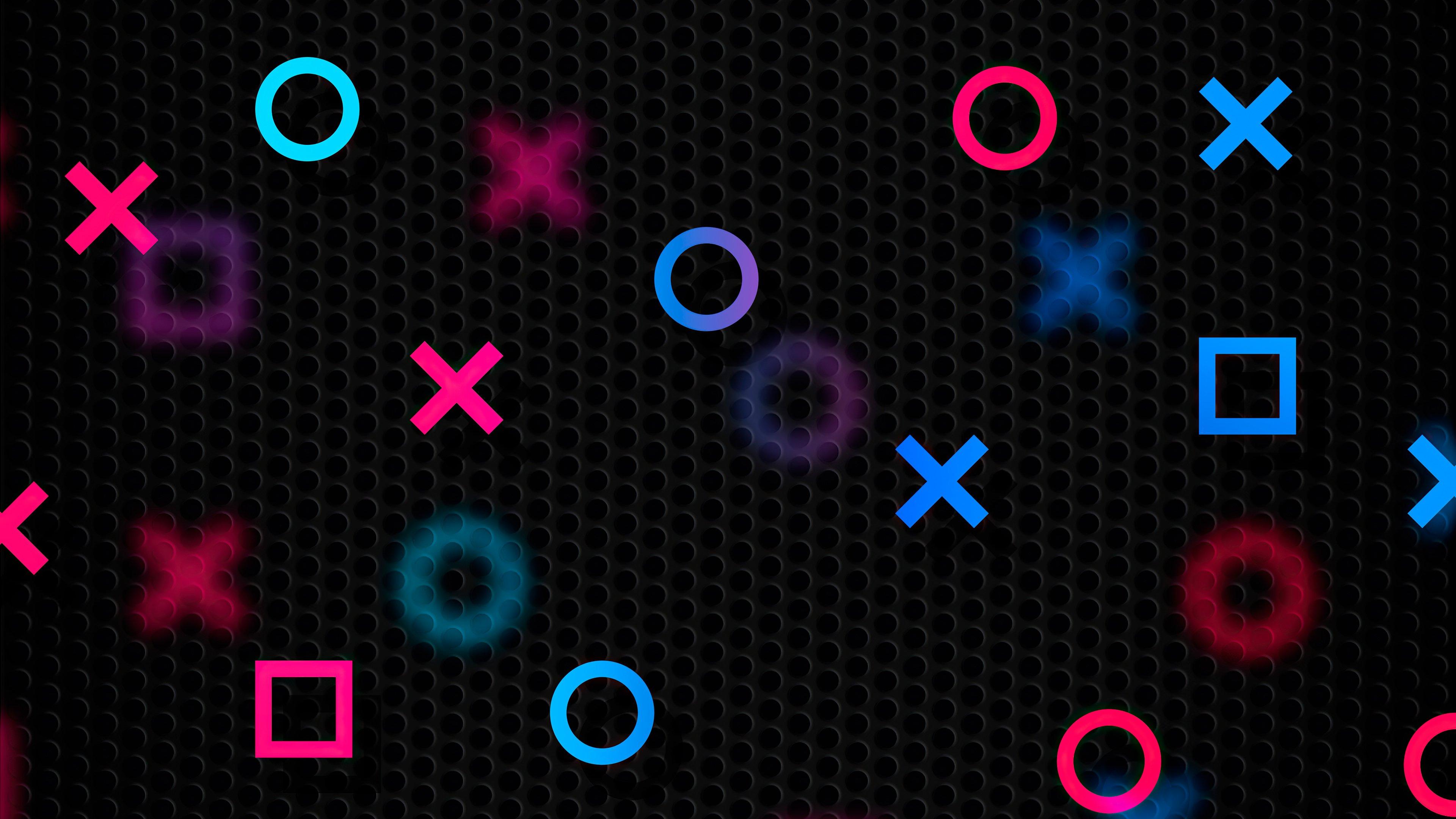 Wallpaper PlayStation Abstract