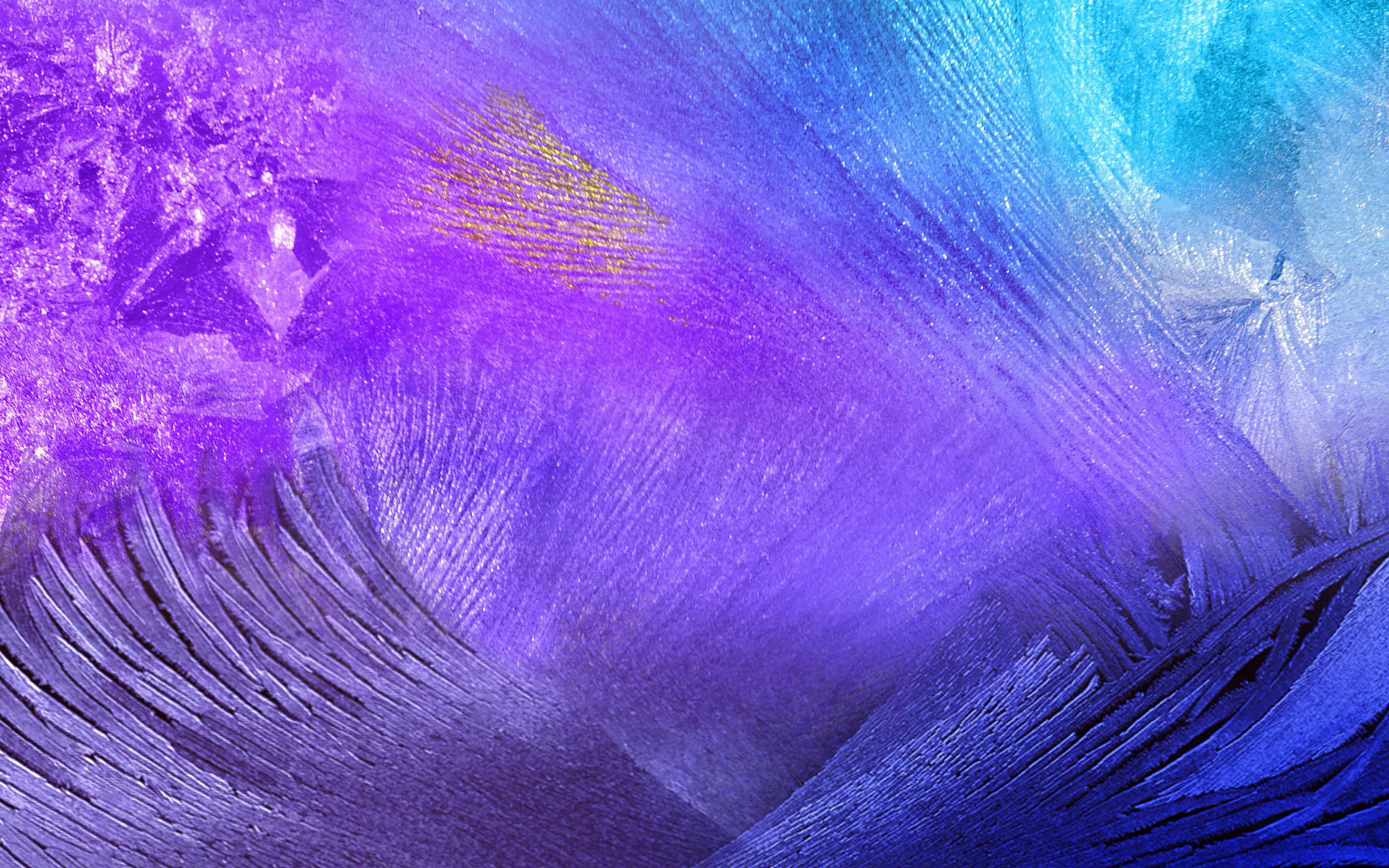 Fondos de pantalla Plumas de ave abstractas