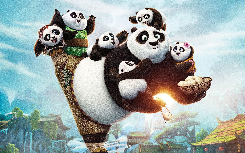 Wallpaper Po of Kung Fu Panda 3