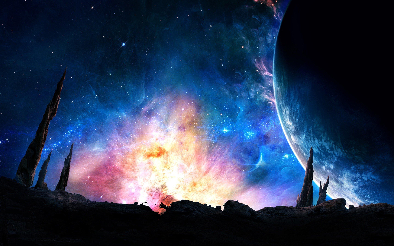 Fondos de pantalla Poderosa Galaxia