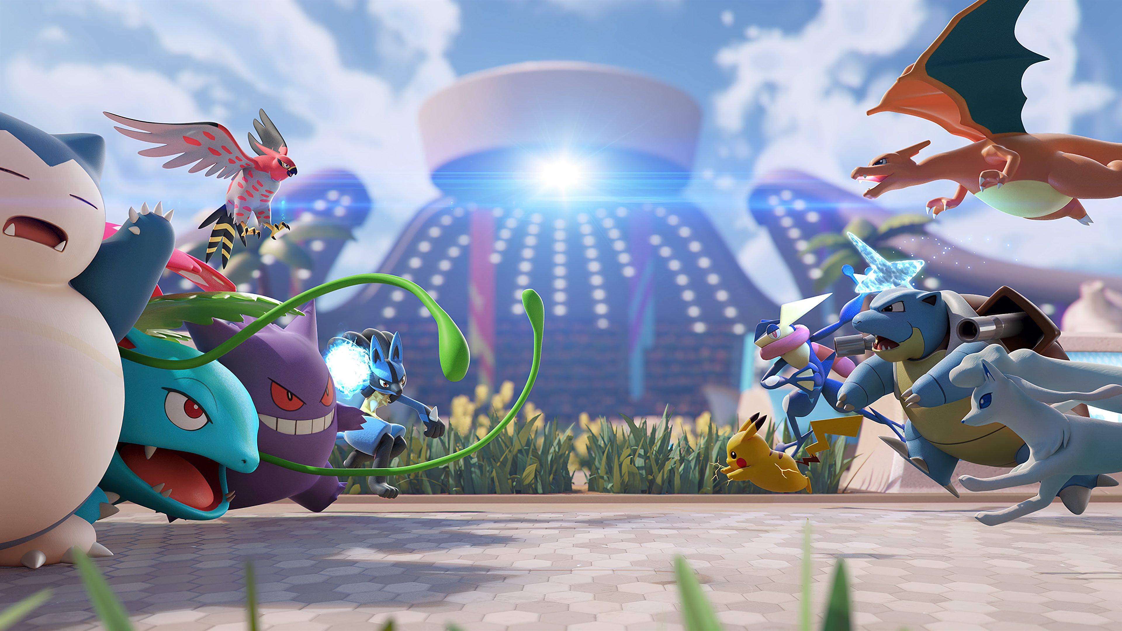 Wallpaper Pokemon Unite