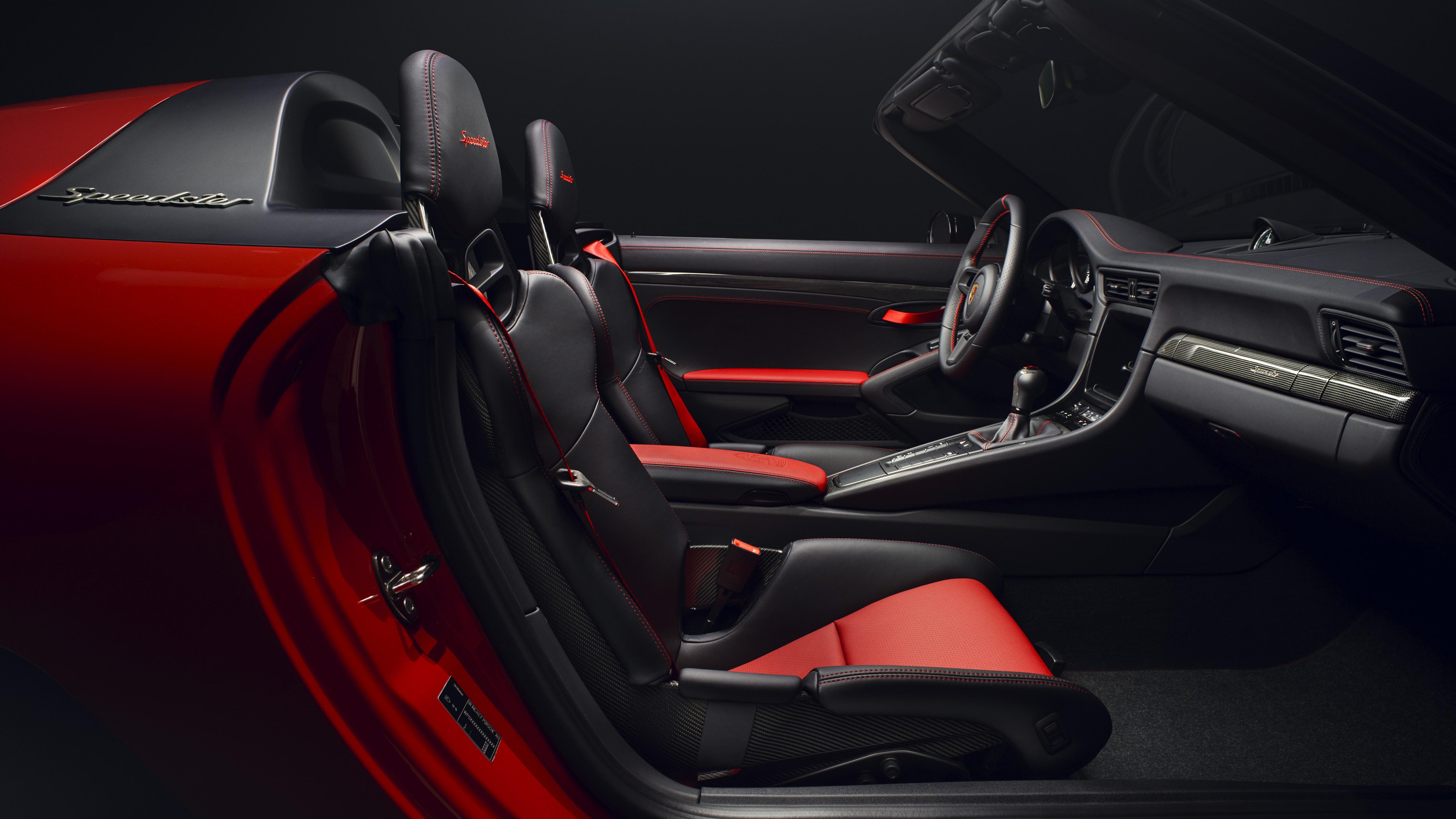 Fondos de pantalla Porsche 911 Speedster Rojo
