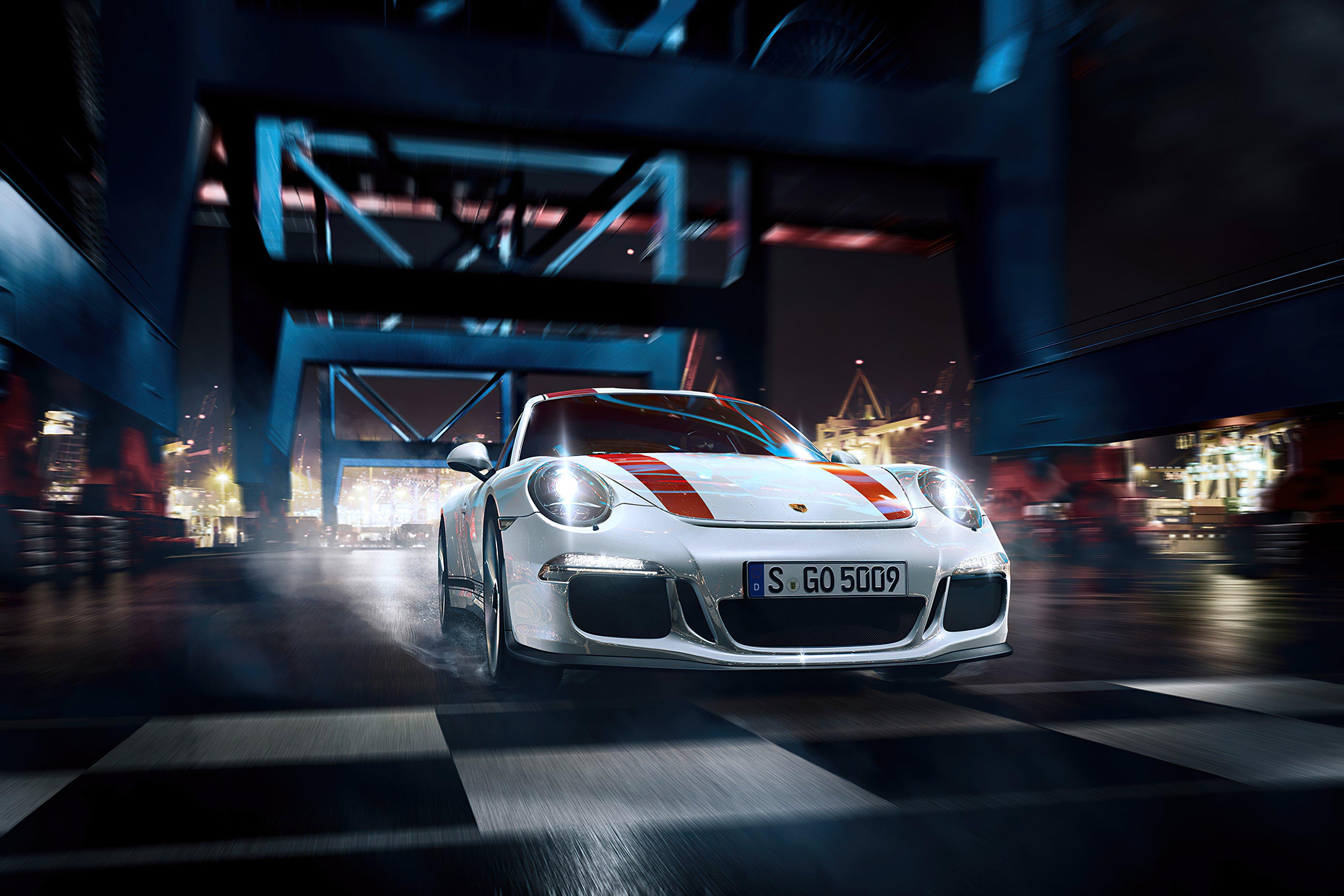Fondos de pantalla Porsche blanco