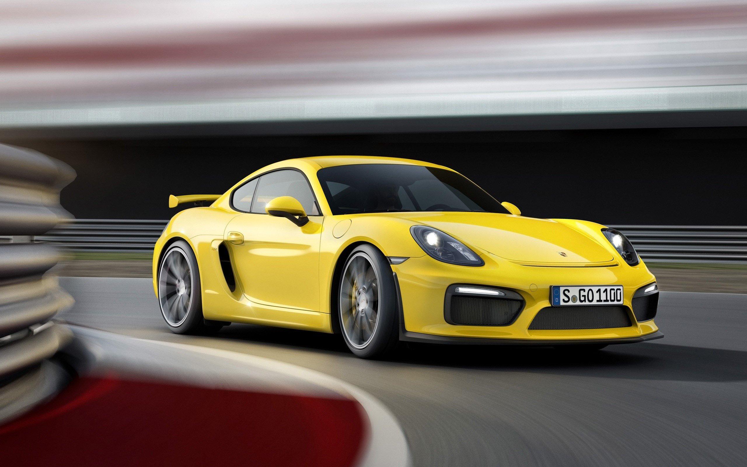 Fondos de pantalla Porsche Cayman GT4