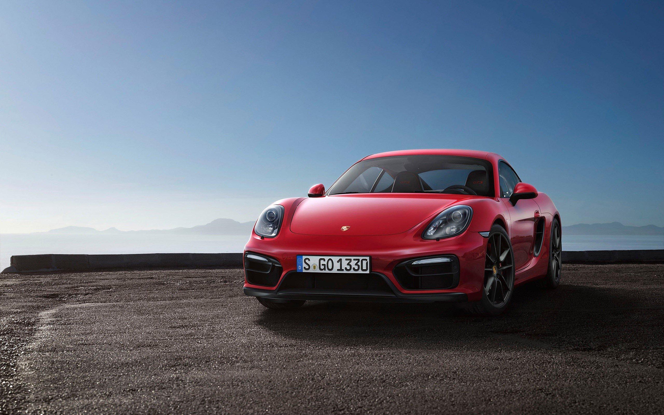 Wallpaper Porsche Cayman GTS