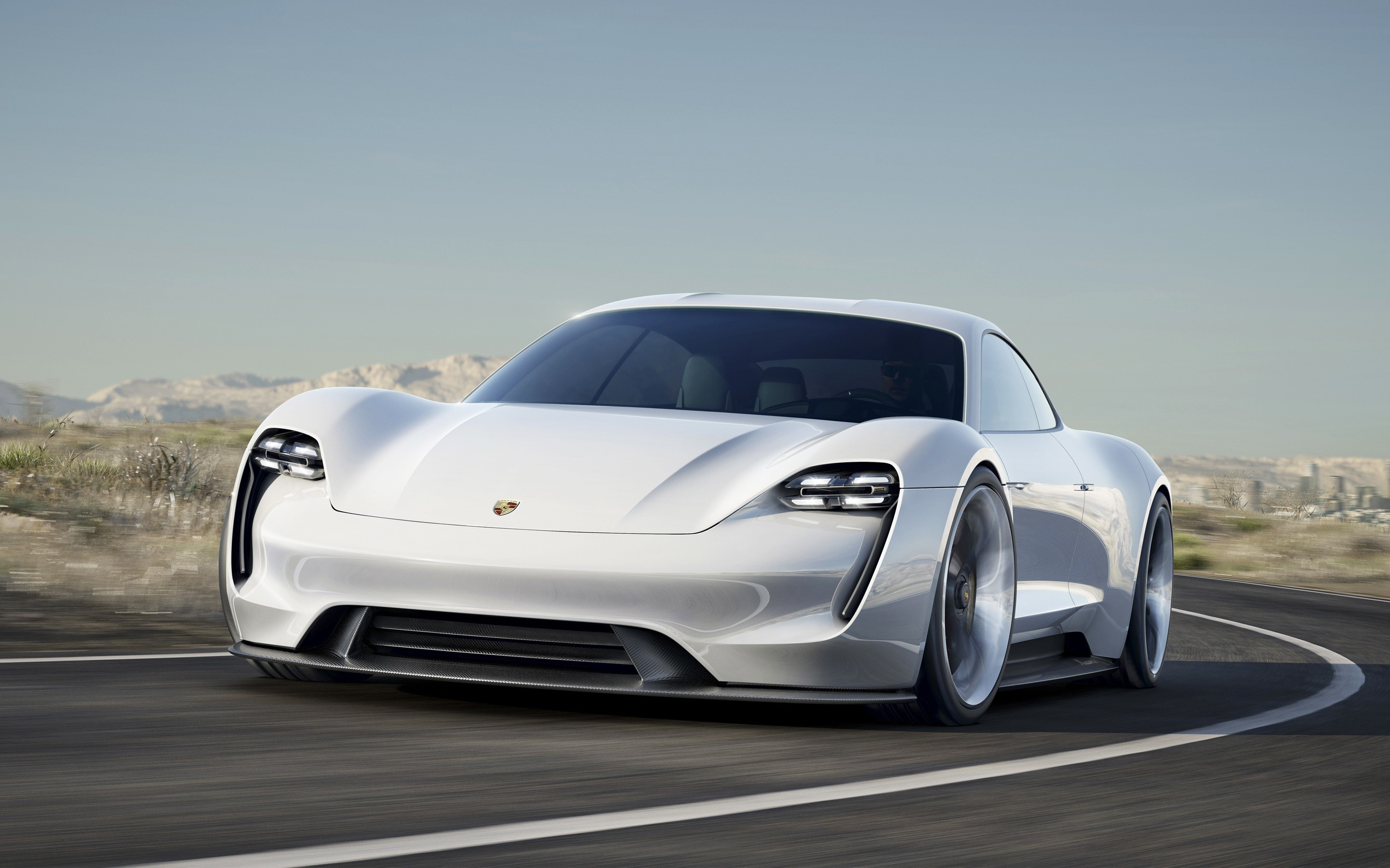 Wallpaper Porsche Mission E